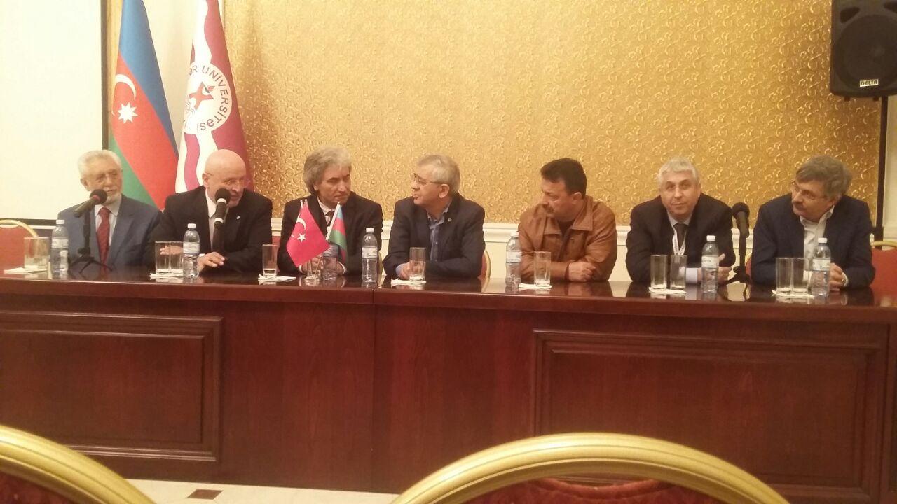 University Rectors Visit Khazar