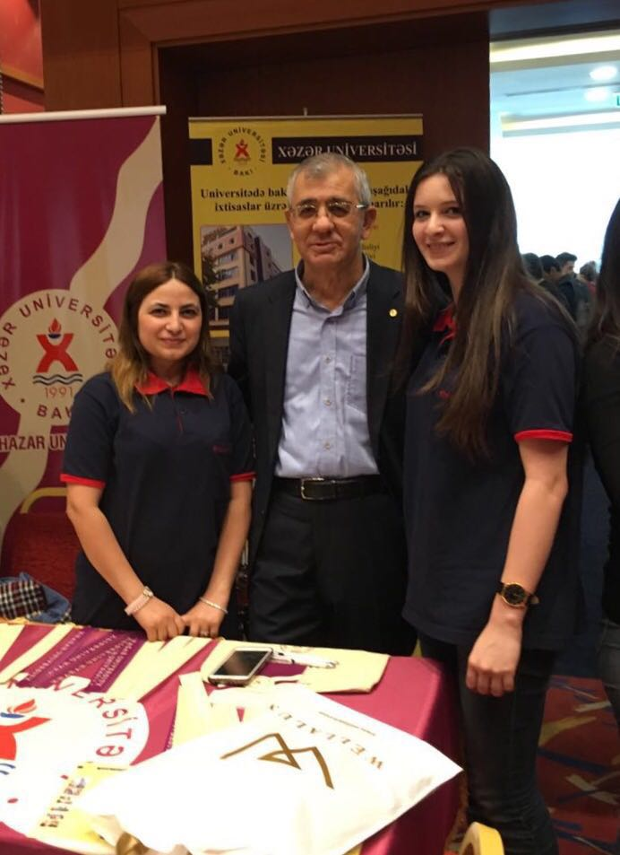 Khazar University Participates in KUNIB Education Fair