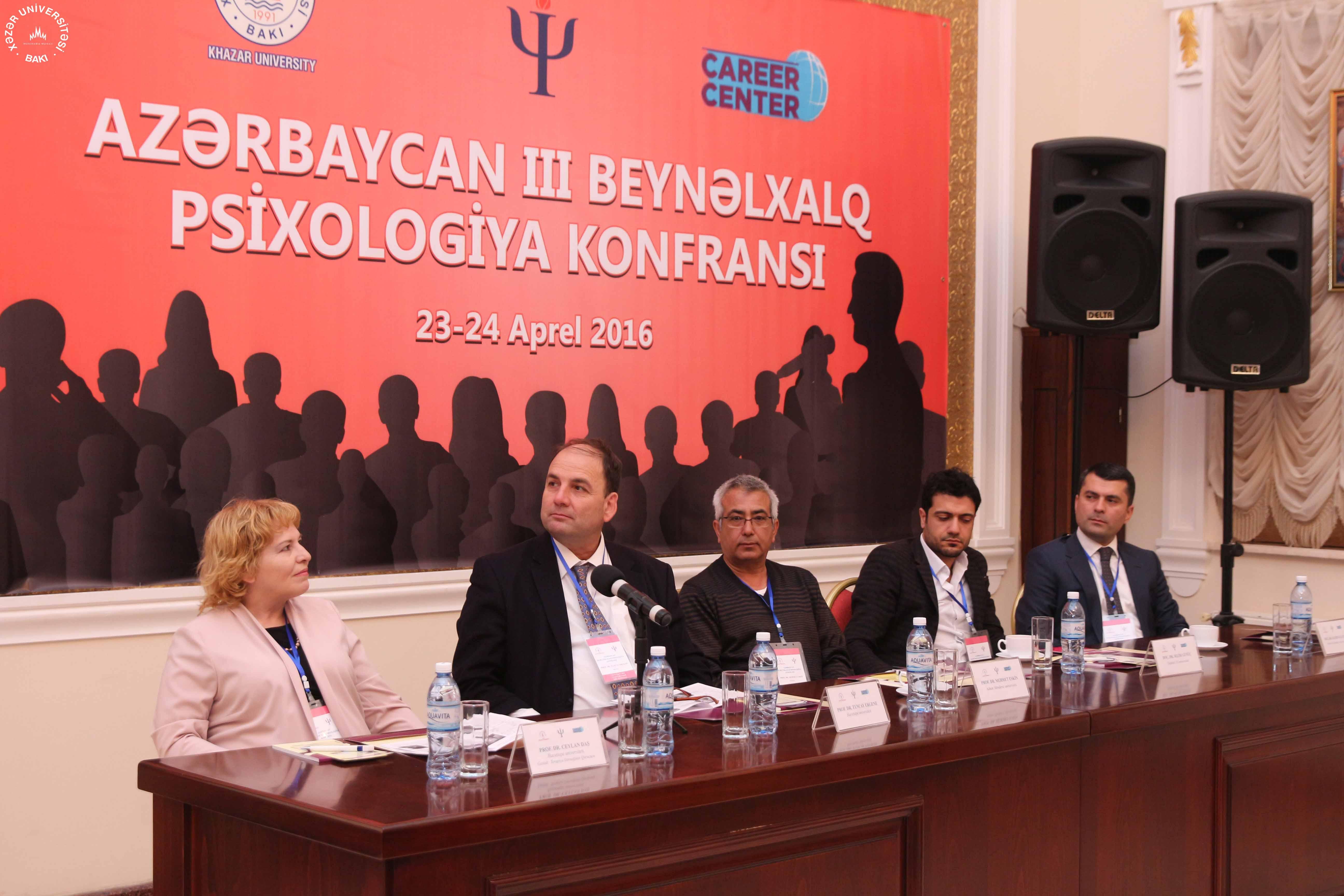 Azərbaycan III Beynəlxalq Psixologiya Konfransı keçirildi.
