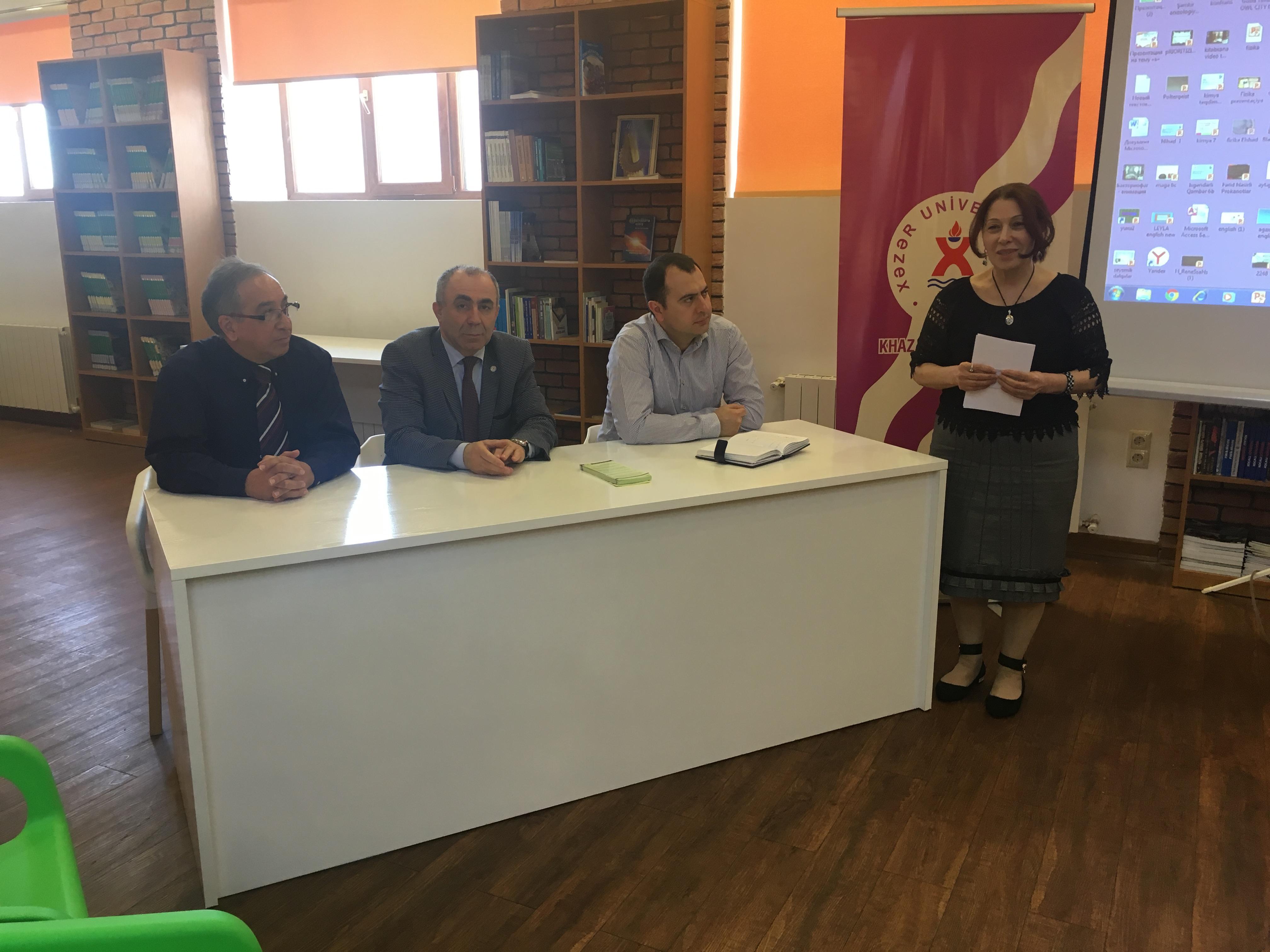 Meeting in Dunya School
