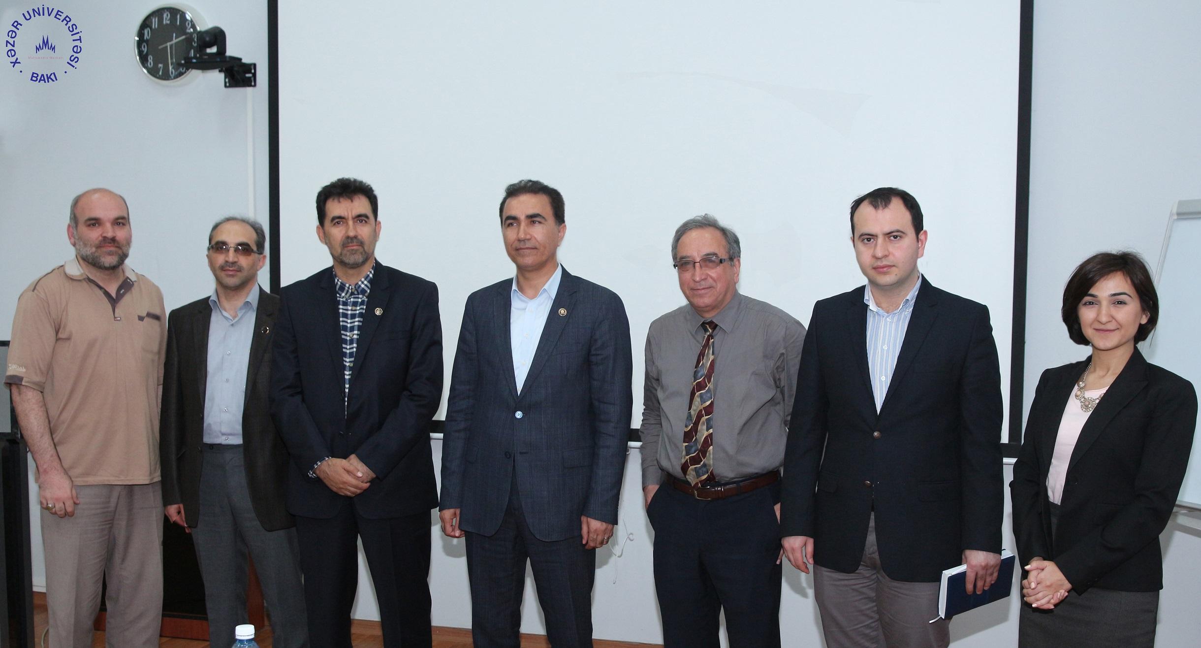 Delegation from Azarbaijan Shahid Madani University Visits Khazar University