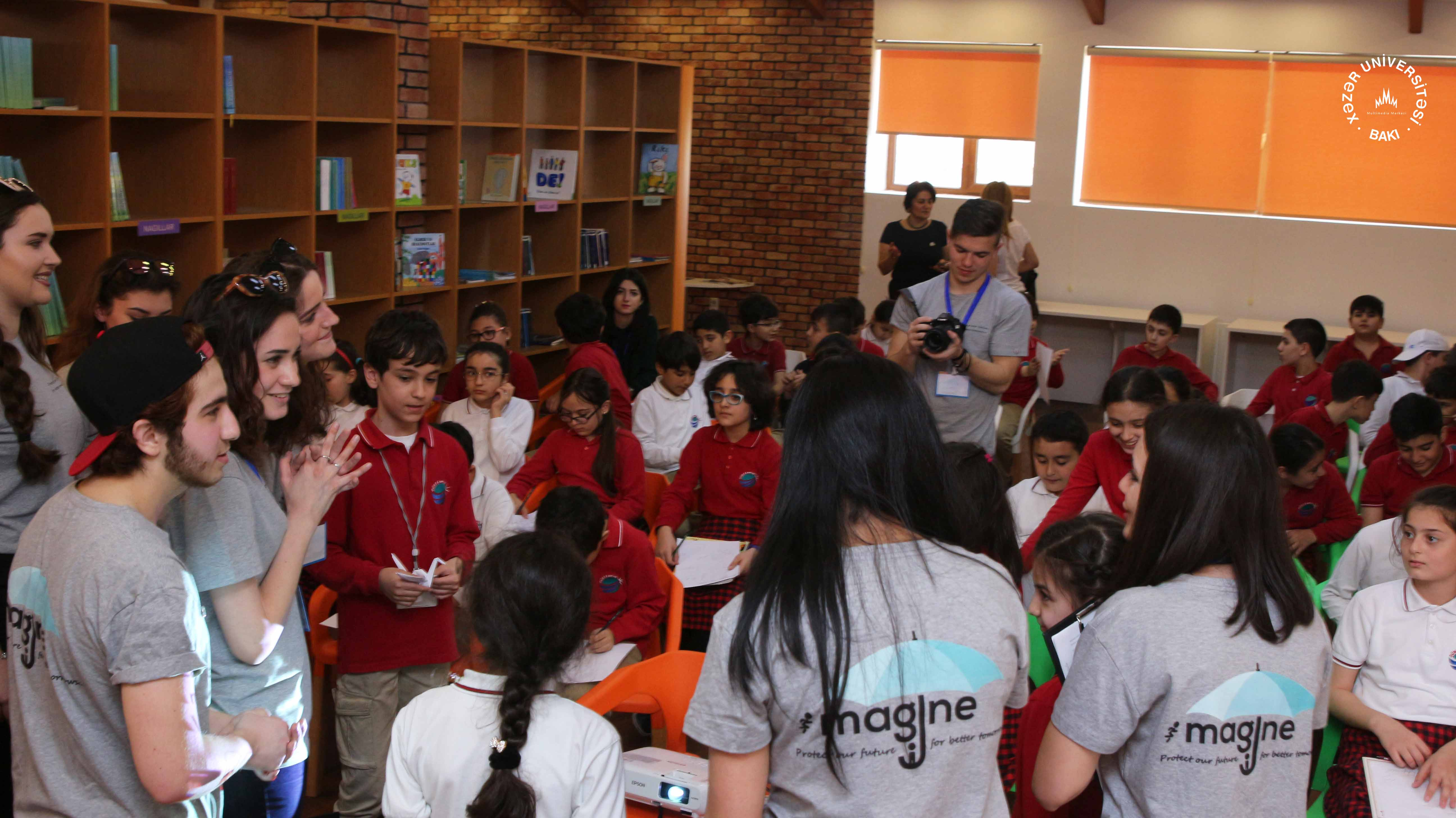 P2p Challenging Extremism Program Imagine Team Of Khazar Selis Youth Is Planning A Series Events As Part The Main Event Will Take Place On April 29 In Marble Hall University