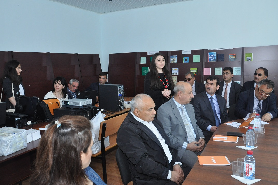ESFİDİP Tempus layihəsi çərçivəsində Lənkəranda təlim-seminarlar keçirildi