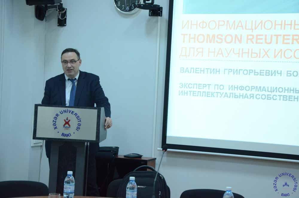 """""""Thomson Reuters""""-in əməkdaşları ilə görüş keçirildi"""