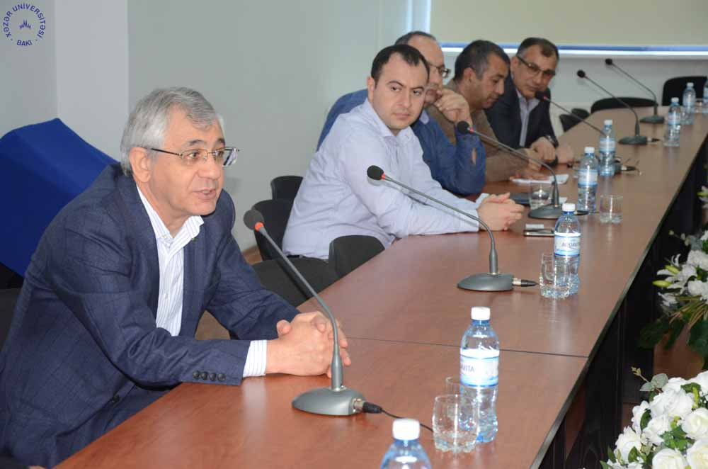 Delegation from Sahand University of Technology Visits Khazar University