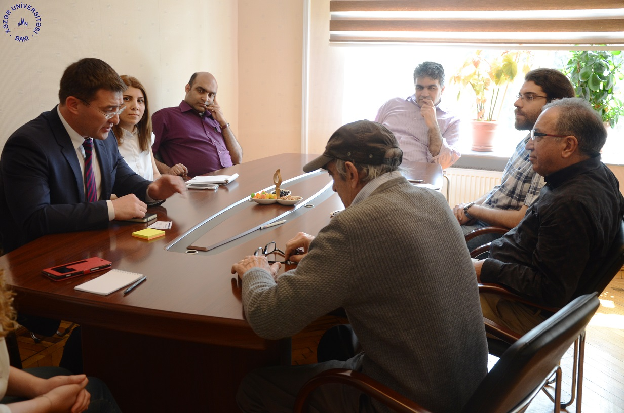Representative of Elsevier Publishing at Khazar University