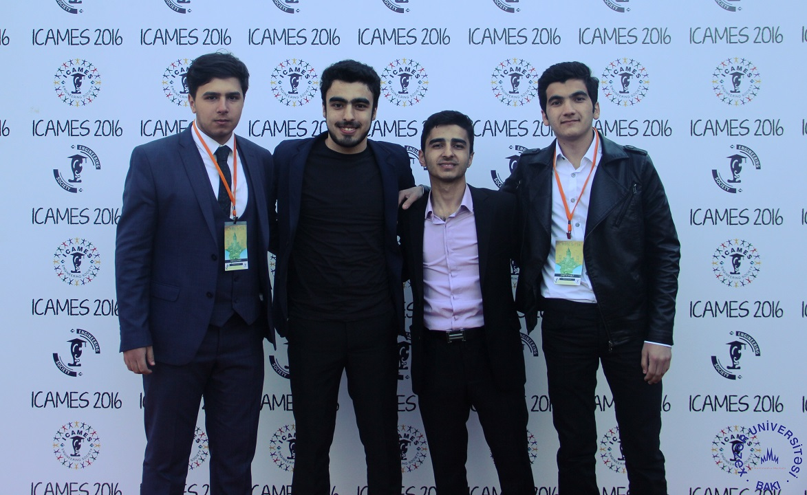 Khazar Students Participate in ICAMES International Conference