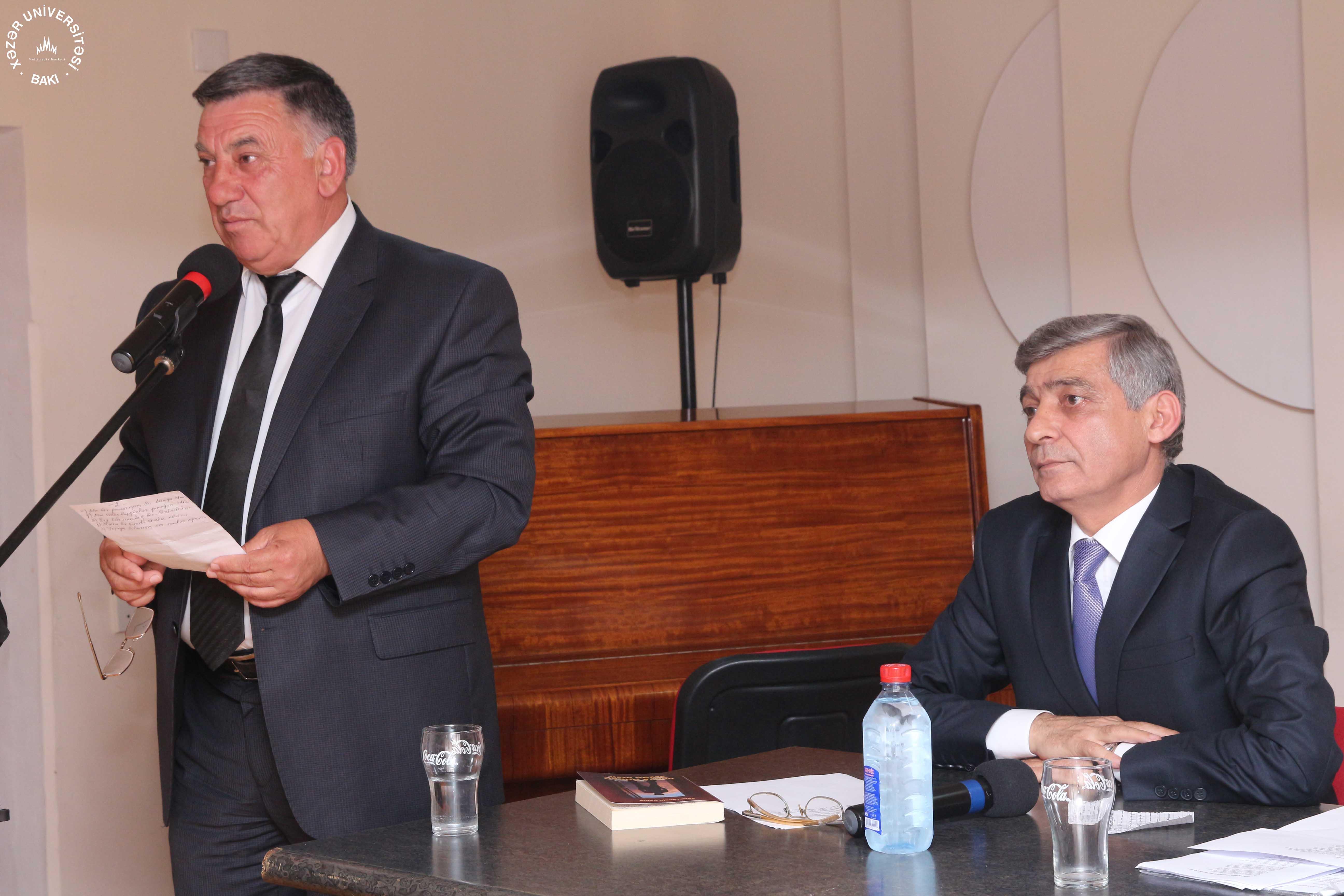 Meeting with Presidential Laureate Poet Kamaleddin Gadimi