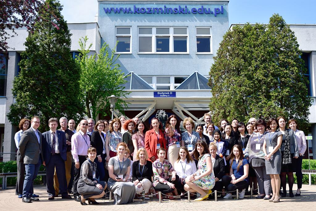 Khazar University Participates in International Staff Week at Kozminski University