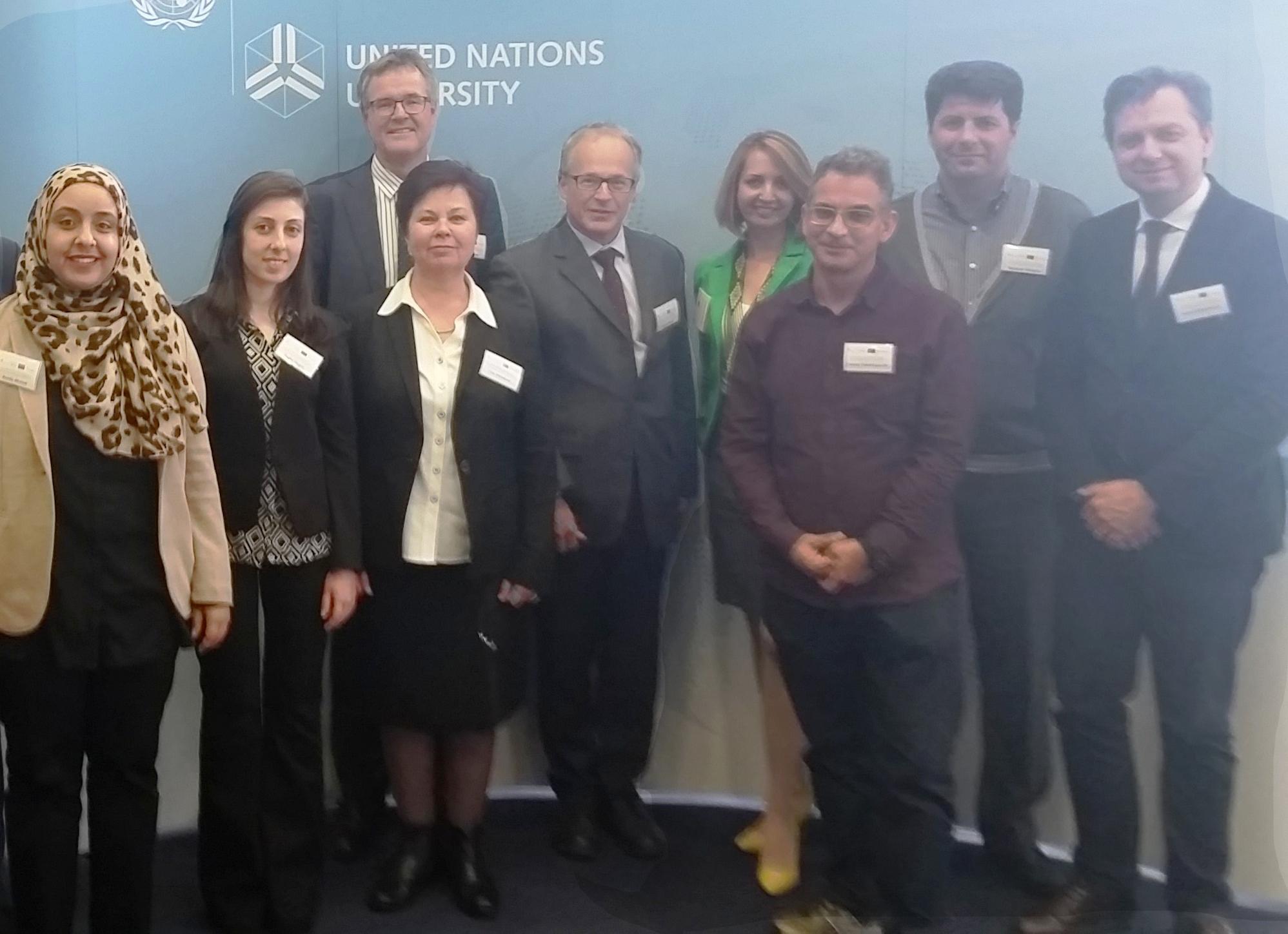 Khazar University Department Chair Visits UN University