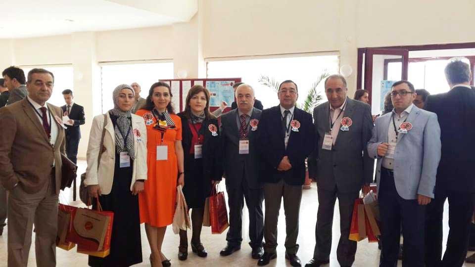 Universitetin əməkdaşları simpoziumda çıxış etdilər
