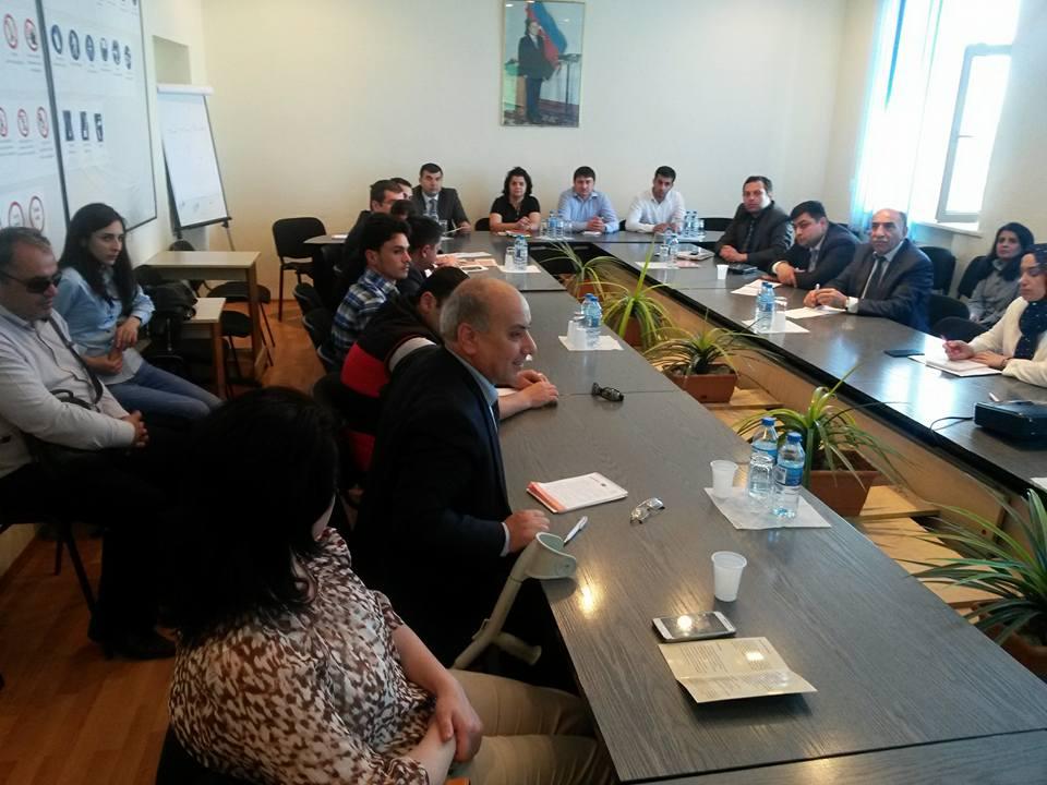 ESFIDIP Tempus layihəsi çərçivəsində məlumatlandırıcı seminar keçirildi