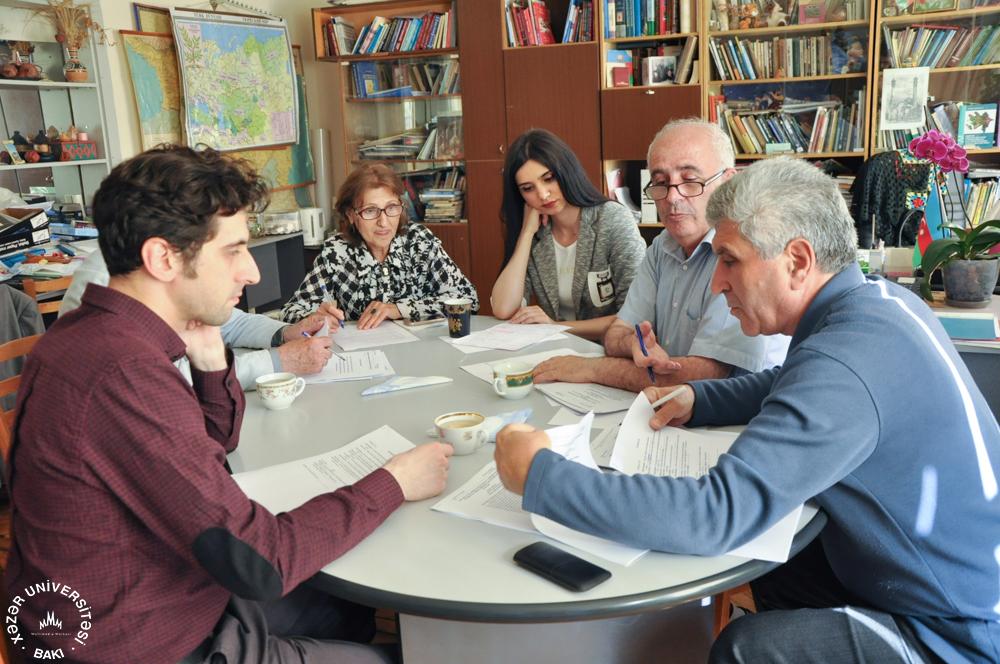Azerbaijan Archeology Journal Meeting