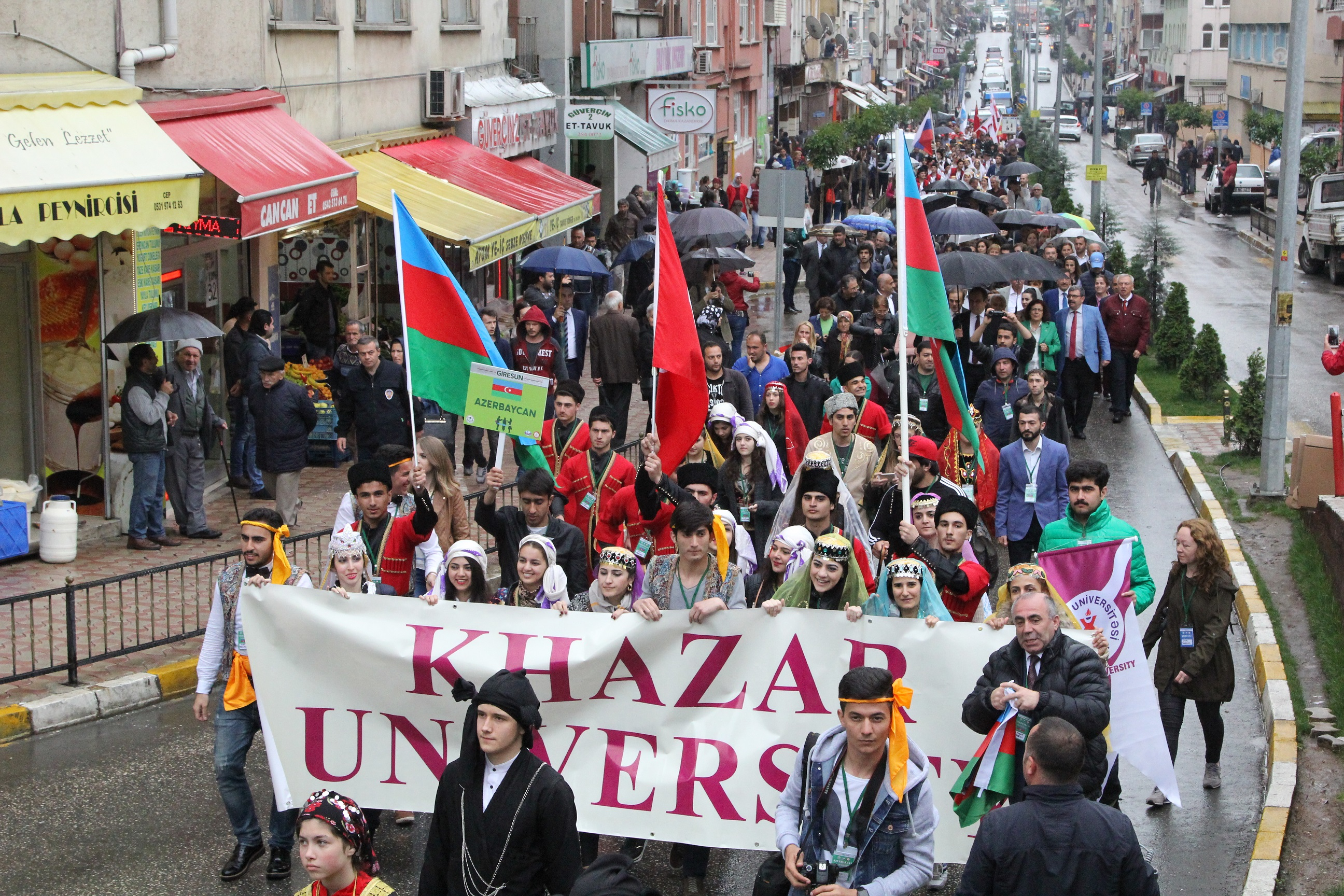 Khazar University Participates in Aksu Festival in Giresun