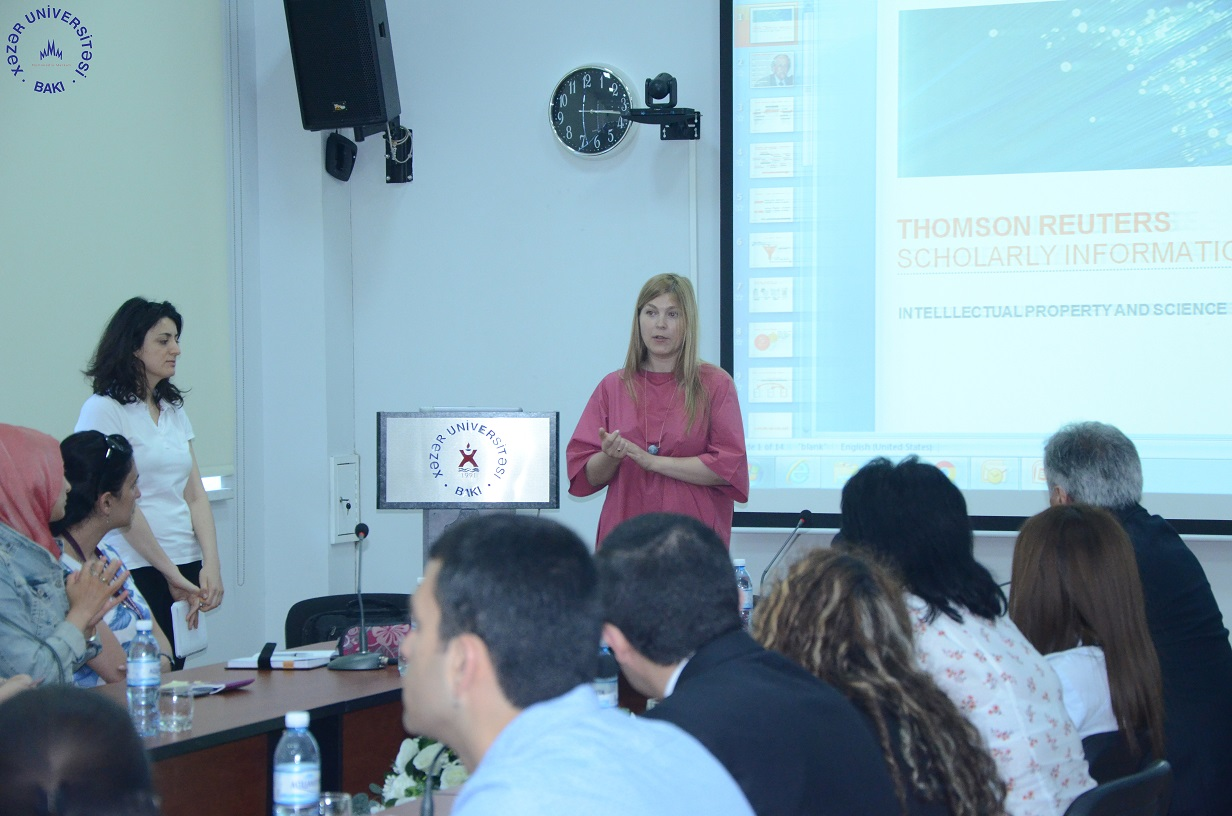 Web of Science Training at Khazar University