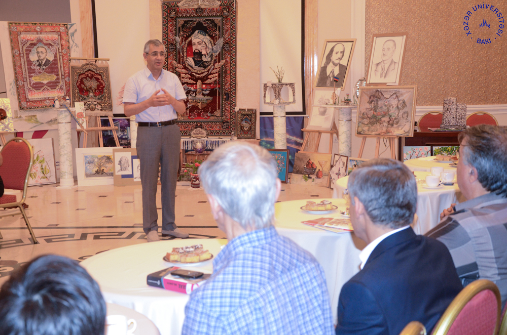 Art Exhibition in Honor of Khazar University's 25th Anniversary