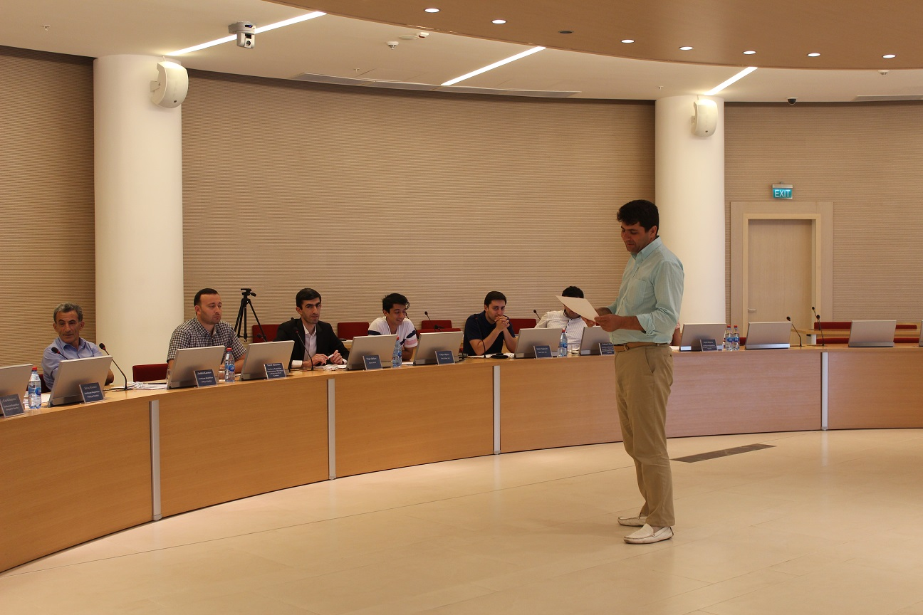 Khazar Faculty Member Delivers Lecture at ADA University