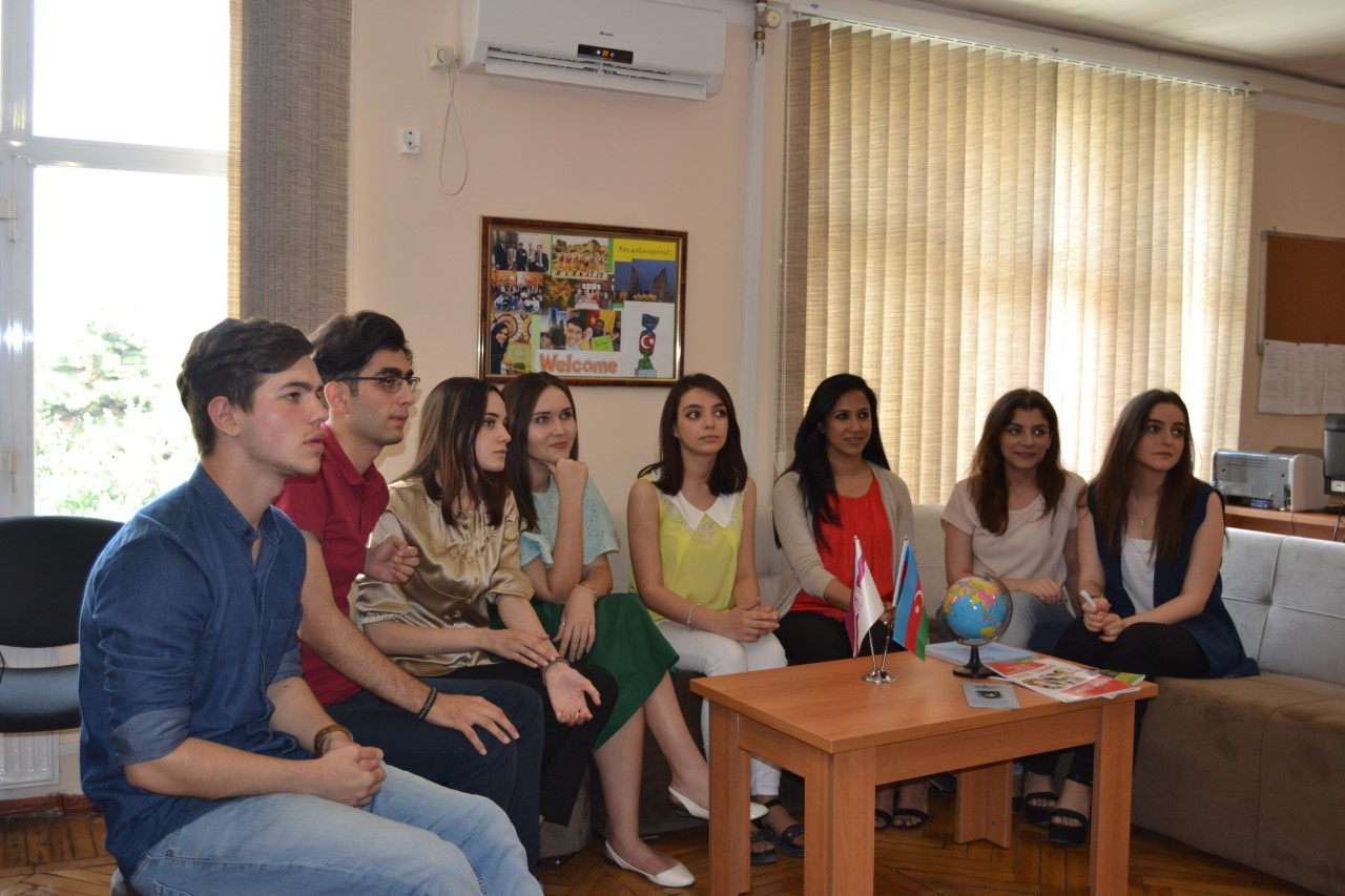 Team Imagine of Khazar University on Student World TV Show