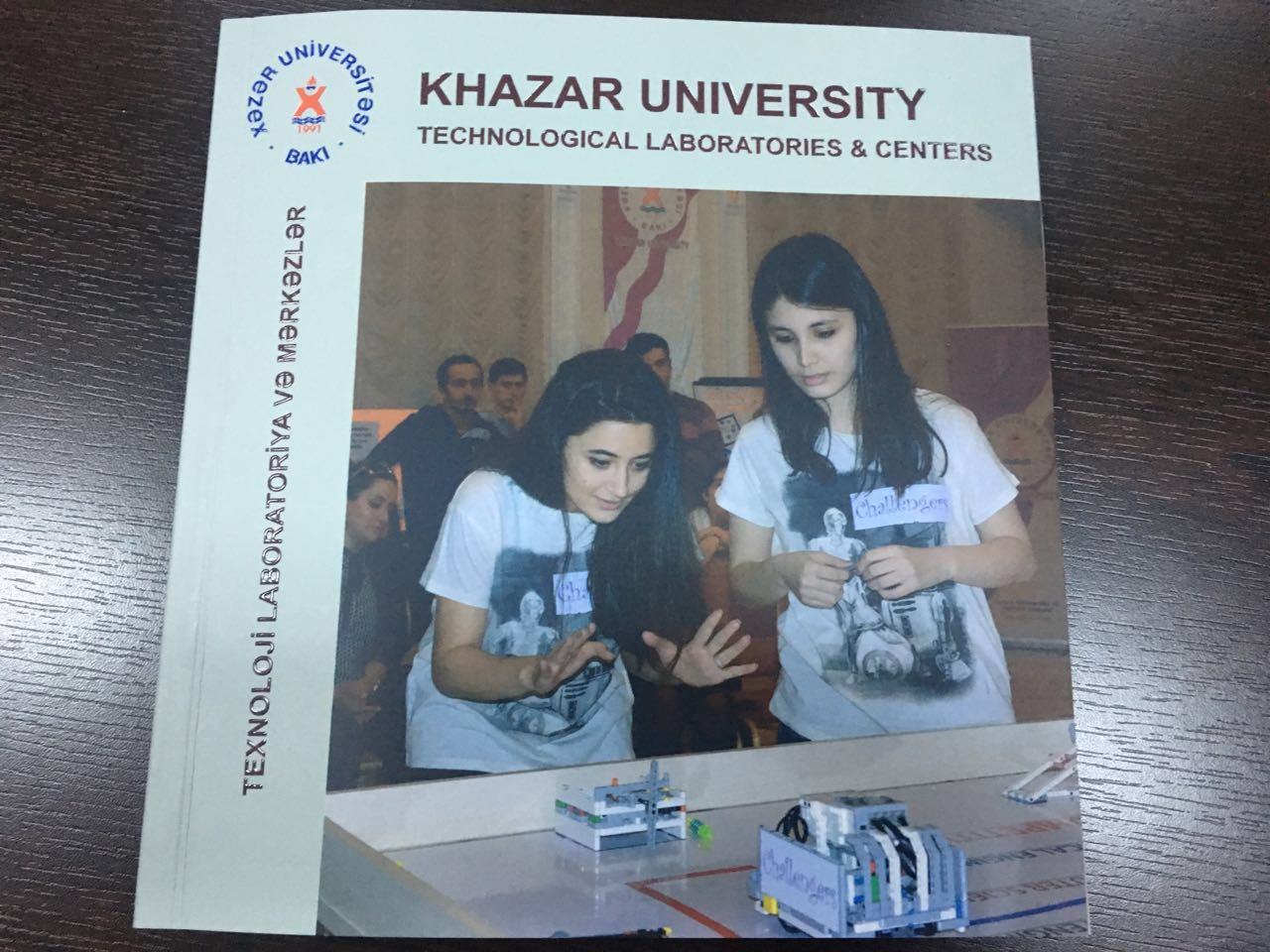 New catalog about Khazar University laboratories has been published