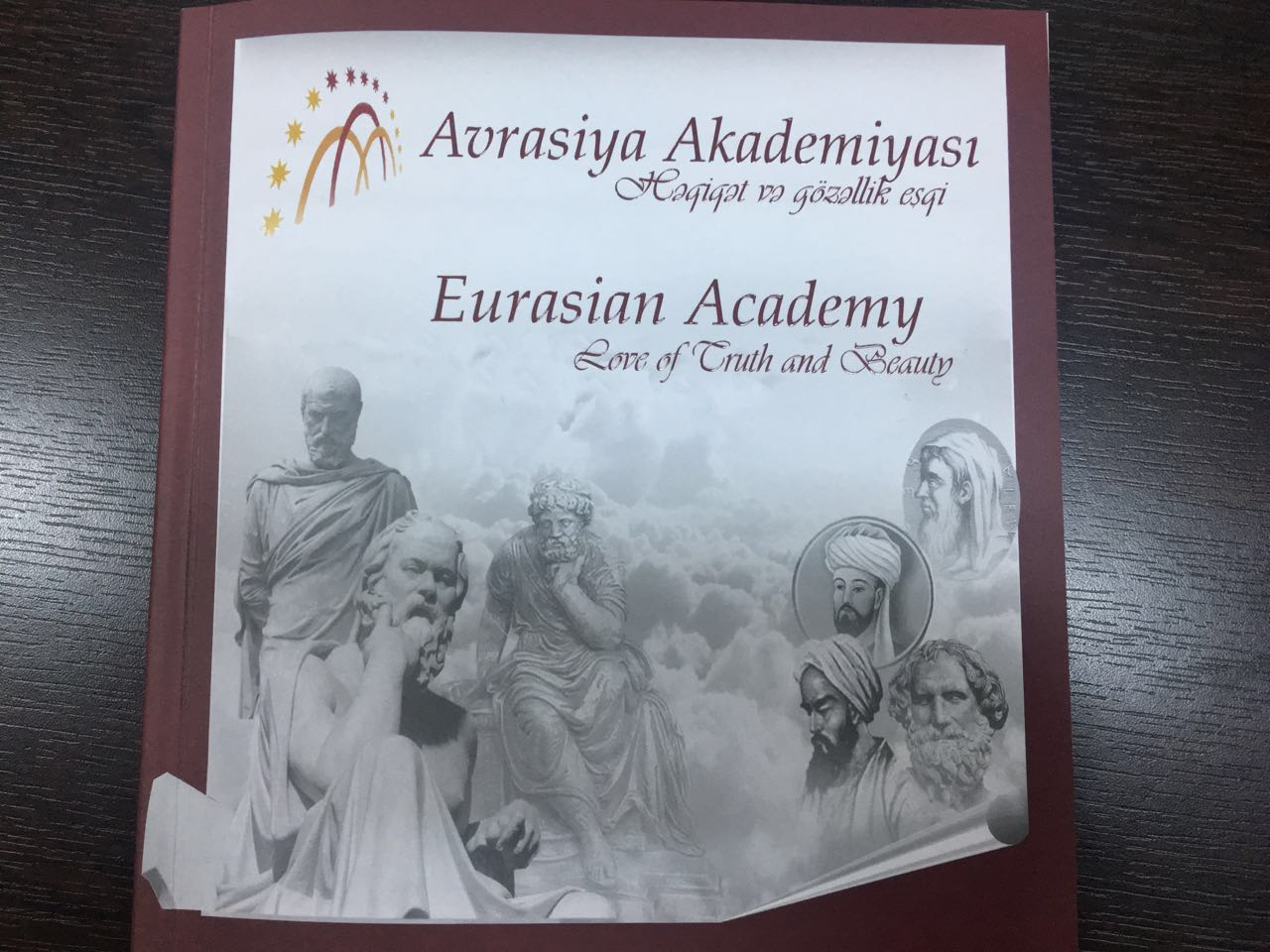 The Book-album of the Eurasian Academy was published