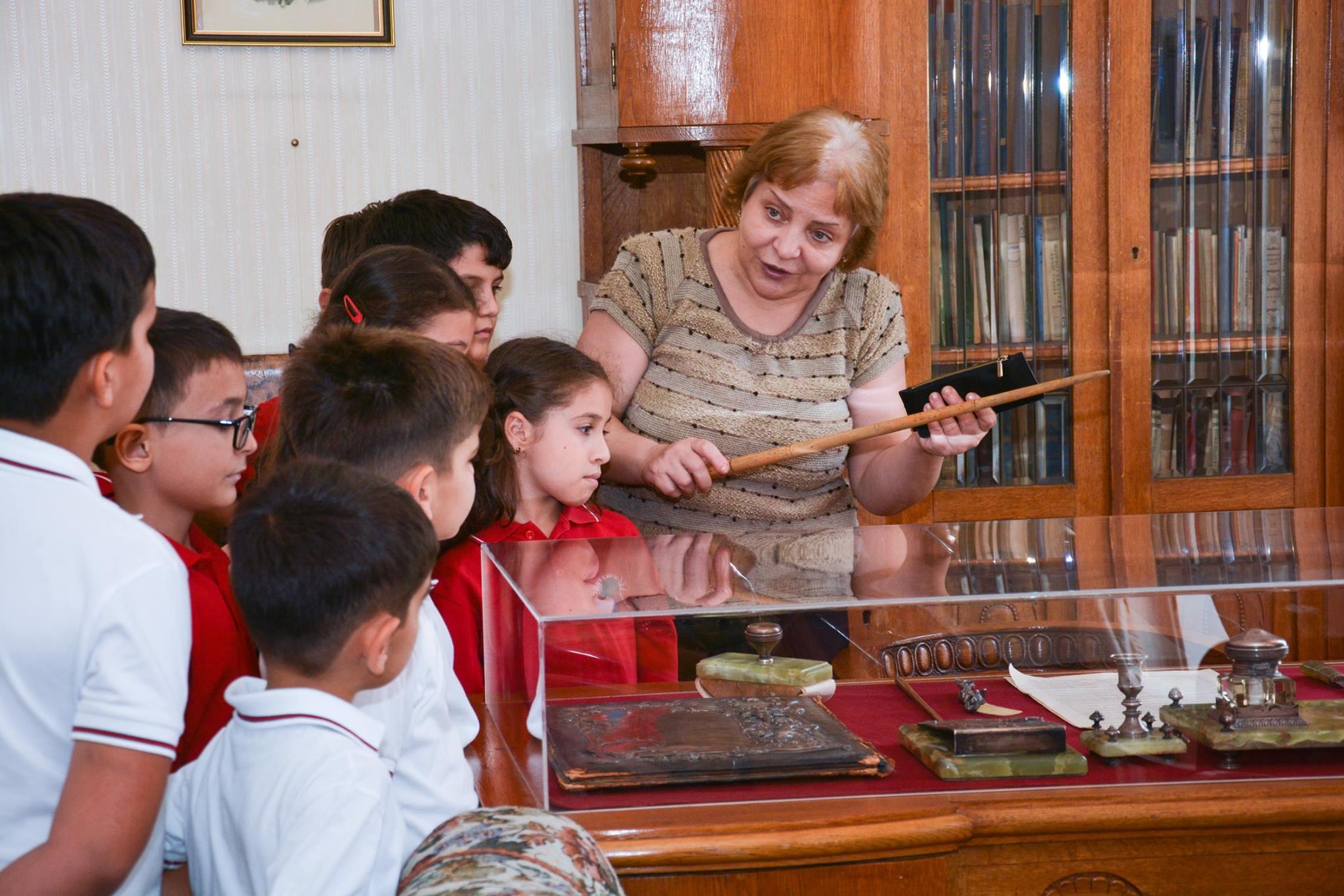 Dunya School Field Trip to Uzeyir Hajibeyli House Museum