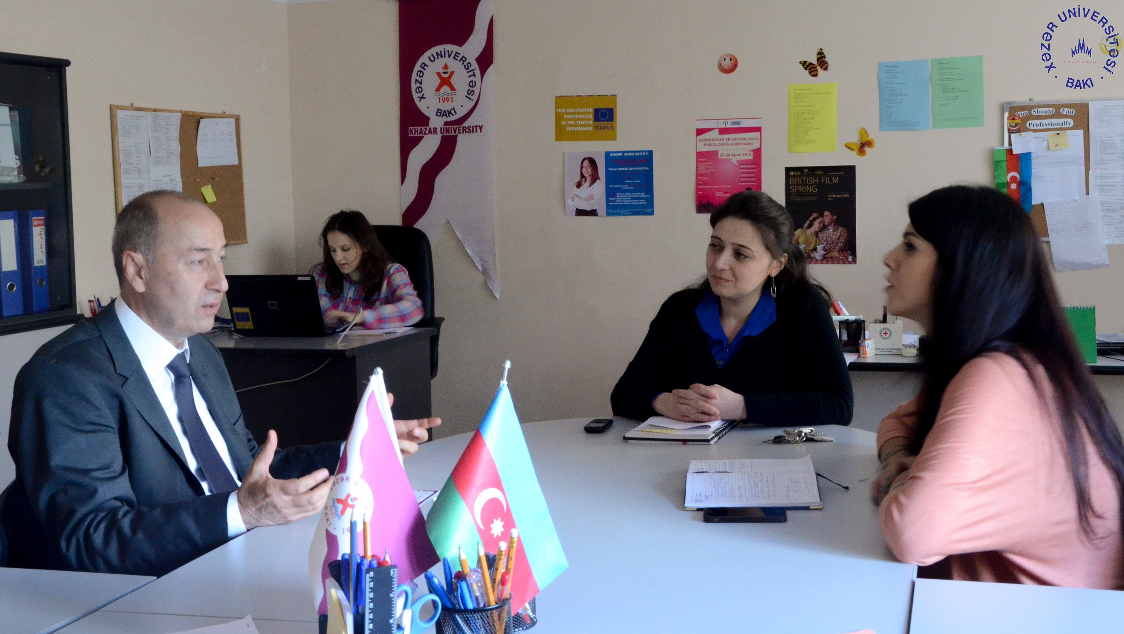 Career Center Holds Meeting with Ganja Euro-Atlantic Information Center