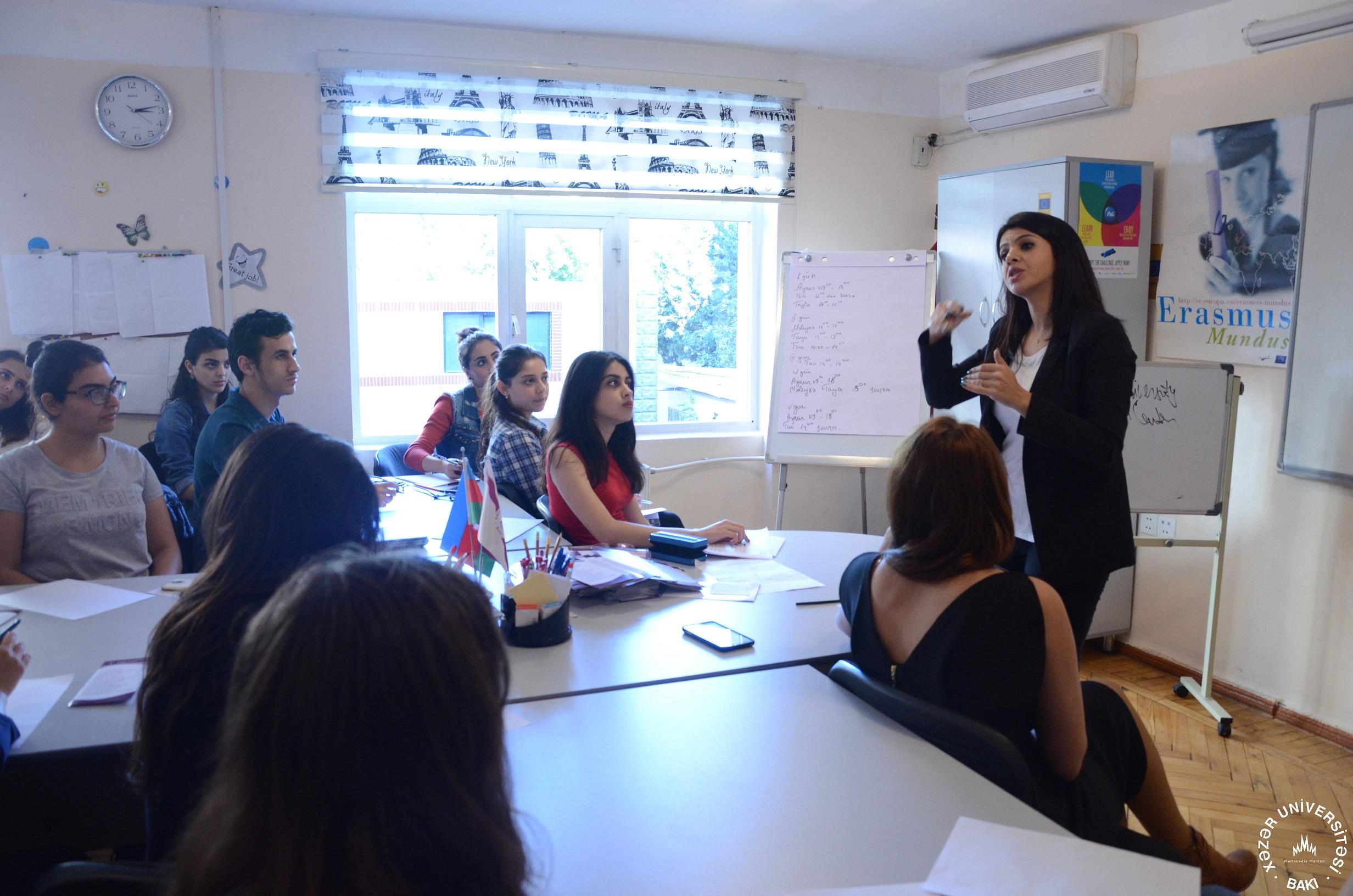 Career Center Holds CV Writing Training