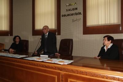 KİM-nin əməkdaşı BDU-da seminarda iştirak etdi