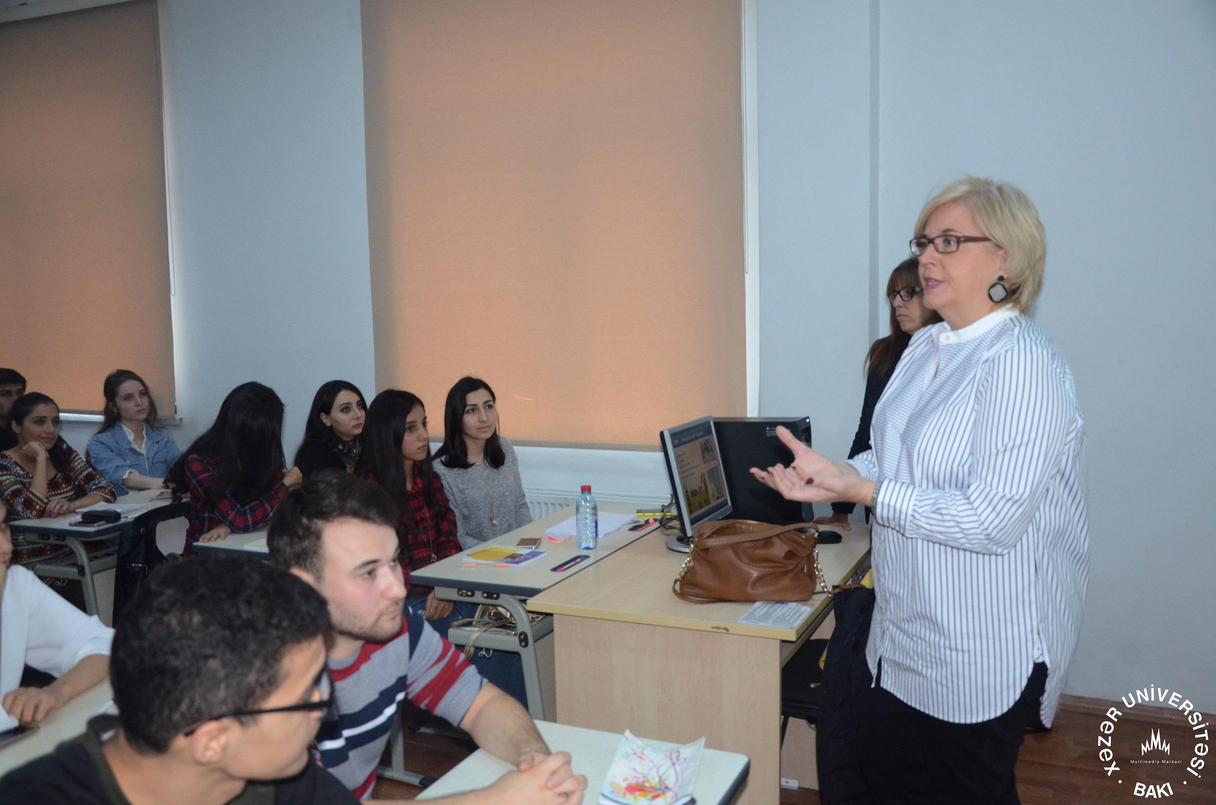CEFAM: Fransa-Amerika Biznes Məktəbi ilə ikinci görüş keçirildi