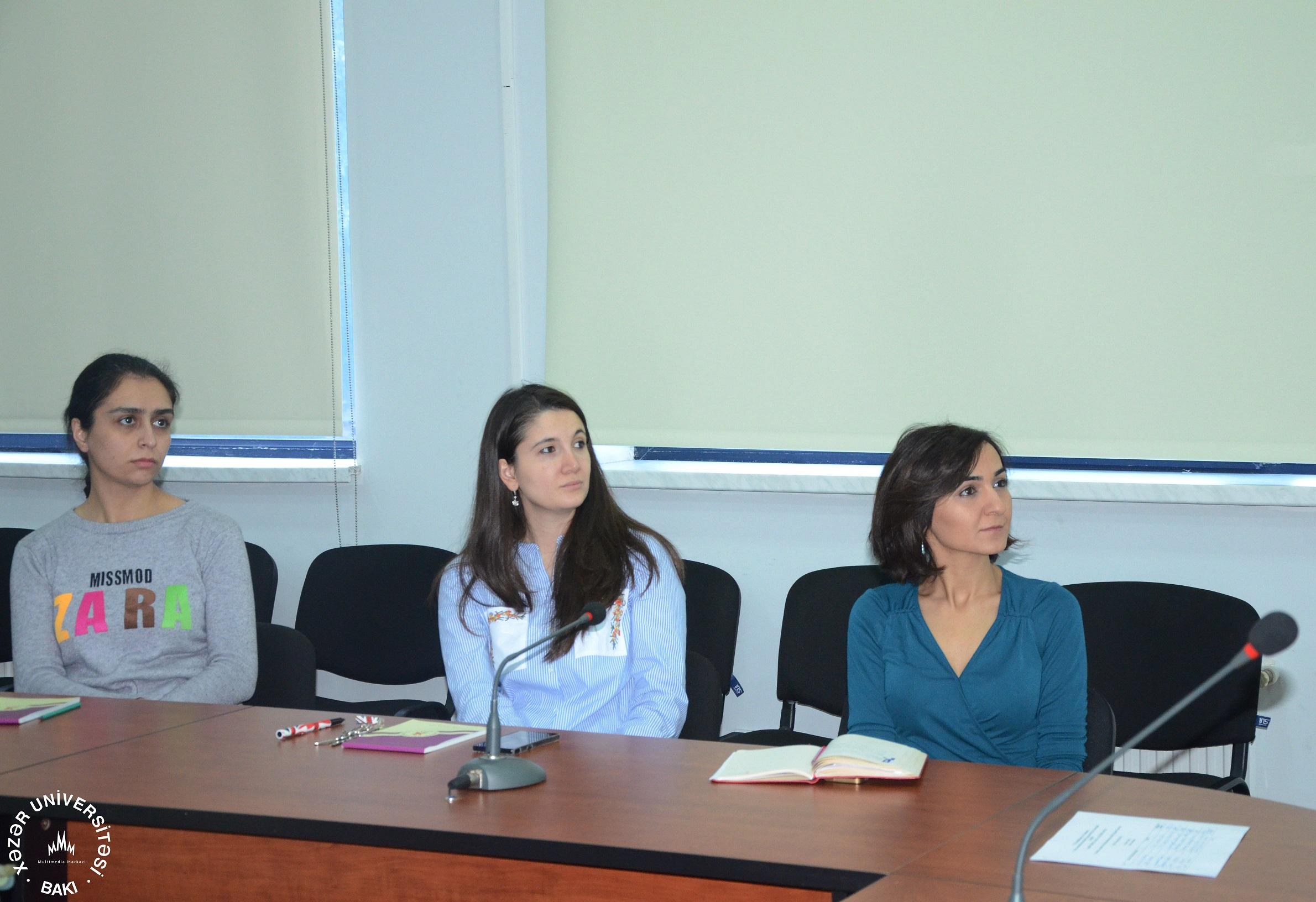 ESFİDİP layihəsi çərçivəsində inzibati işçilər üçün təlim-seminar keçirildi
