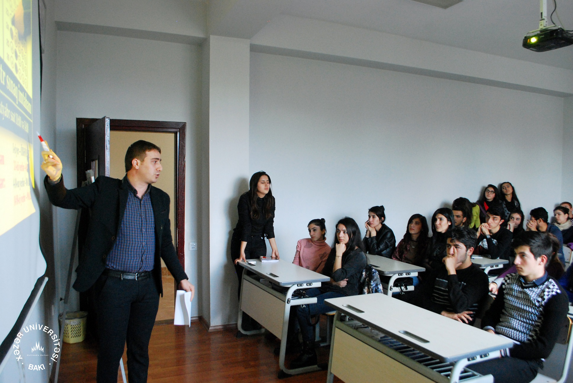 """Student Union Holds Seminar on """"The Role of Computer and Language Skills in Daily Life"""""""