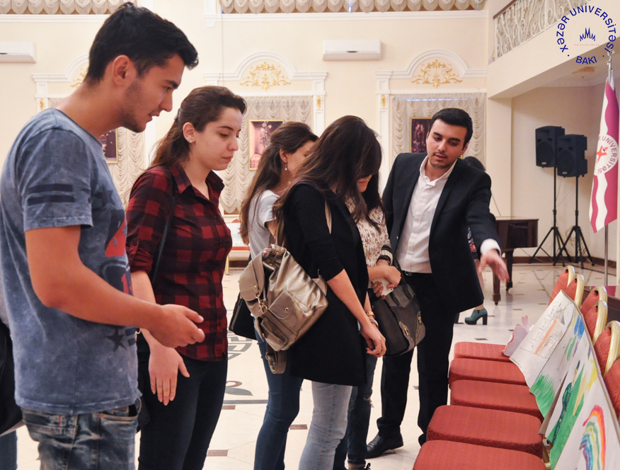 """Student Union Holds """"Different Worlds"""" Art Exhibit"""