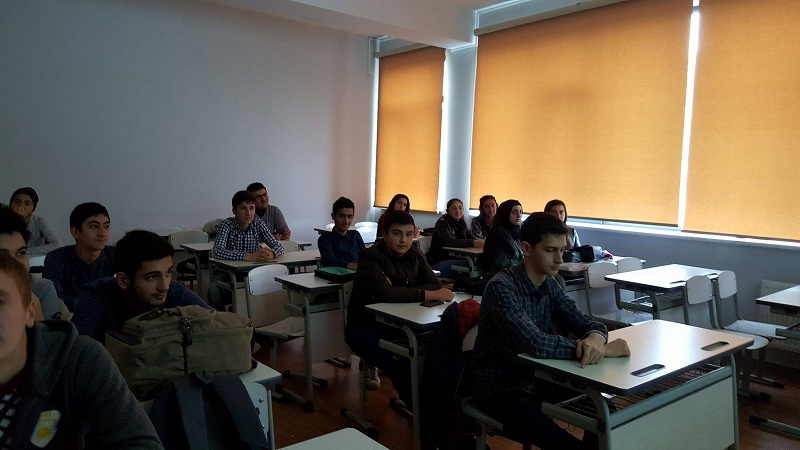 Mühəndislik və tətbiqi elmlər fakültəsinin tələbələri üçün təlim-seminar keçirildi
