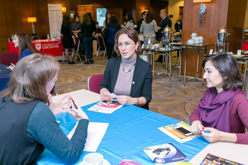 """Representatives of Khazar University Participate in """"Networking with UK Universities"""" Event"""
