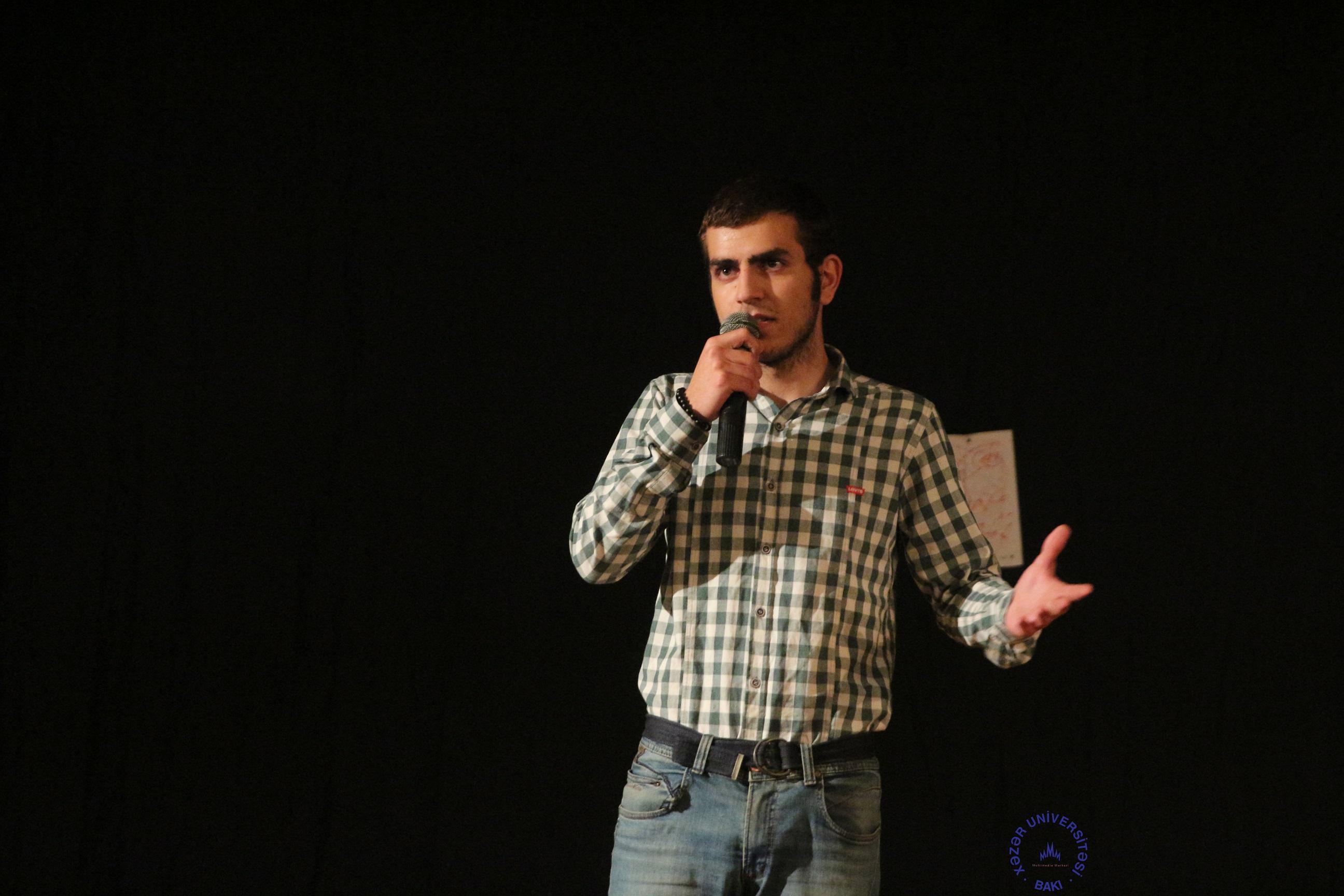 """""""ƏSA"""" teatrı premyerasını """"Xəzər""""də keçirdi"""