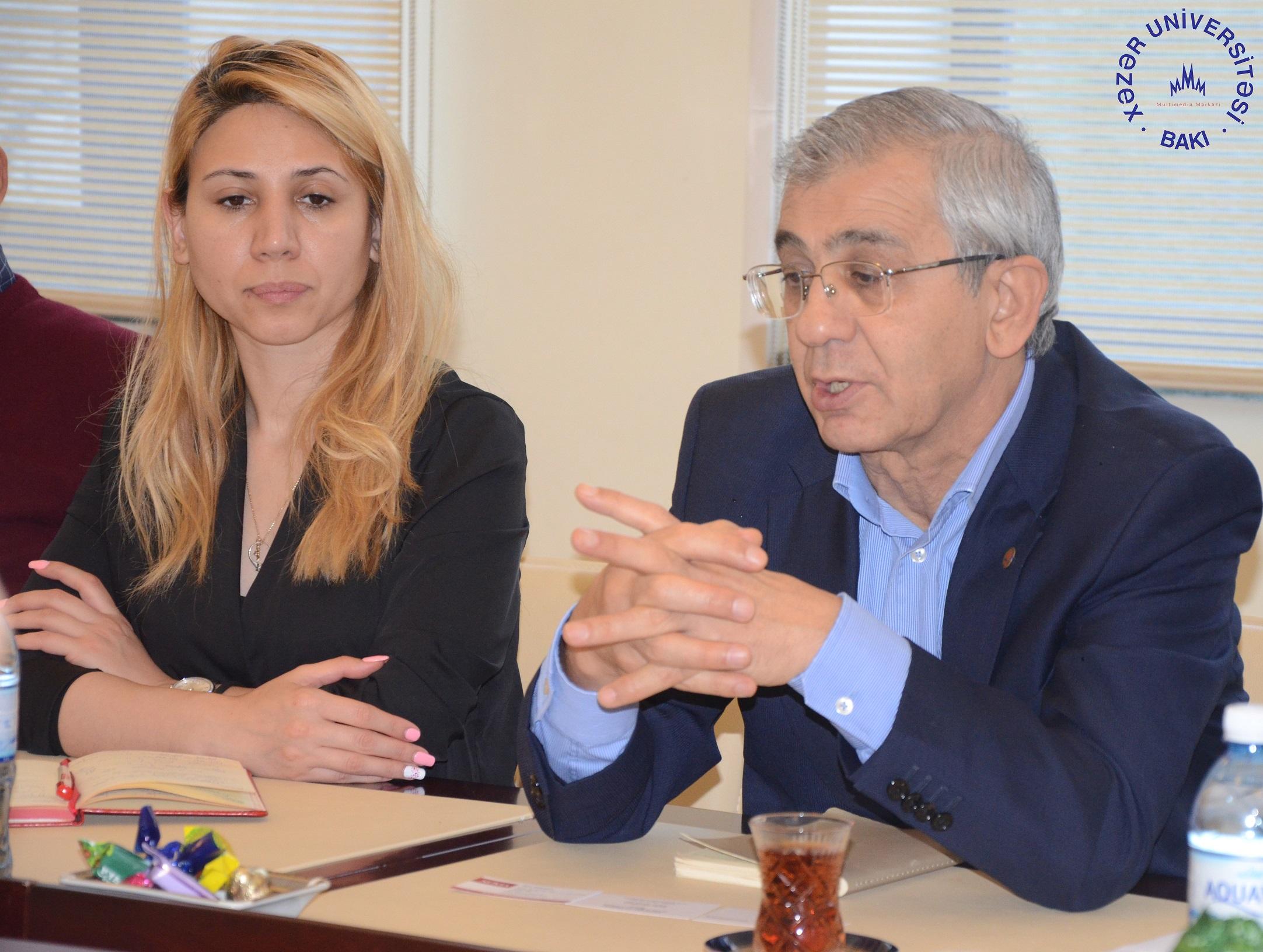 Rector of Novia University of Applied Sciences (Finland) Visits Khazar