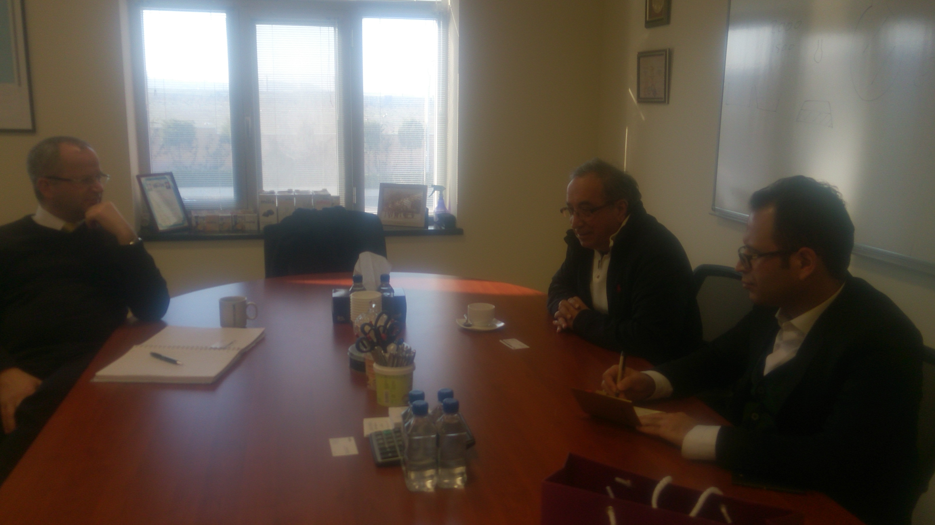 Acting Dean of School of Engineering and Applied Sciences Meets with Head Manager of Milla