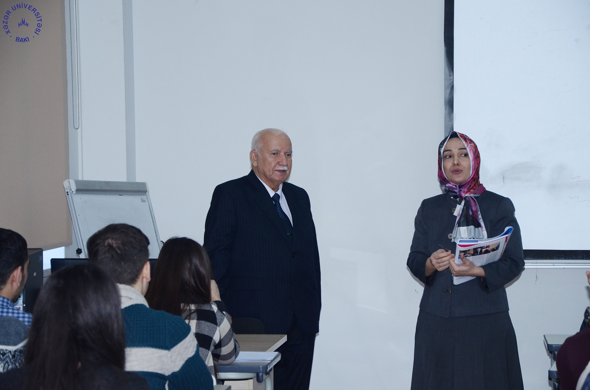 BSU Professor Gives Guest Lecture at Khazar
