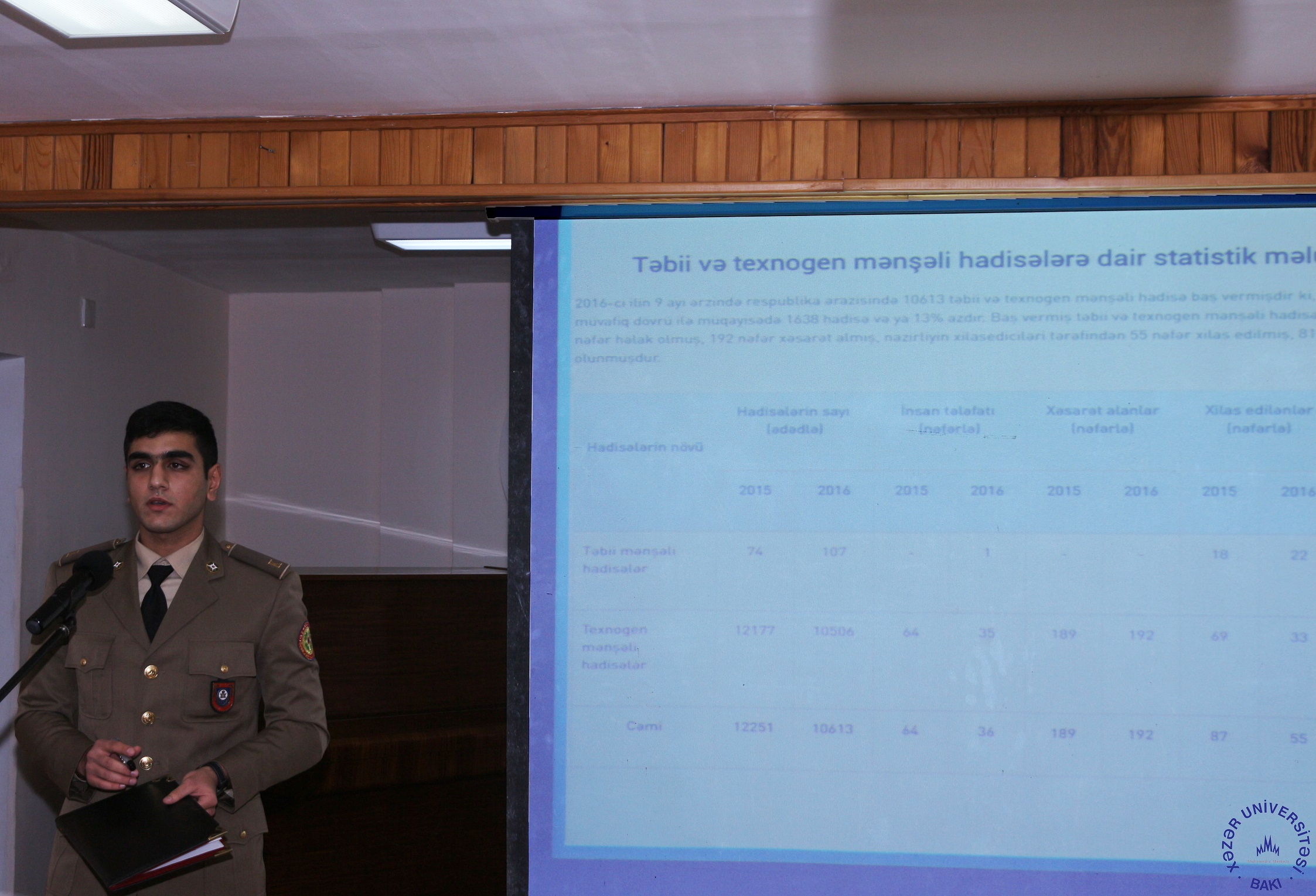 Representatives of Ministry of Emergency Situations Visit Khazar