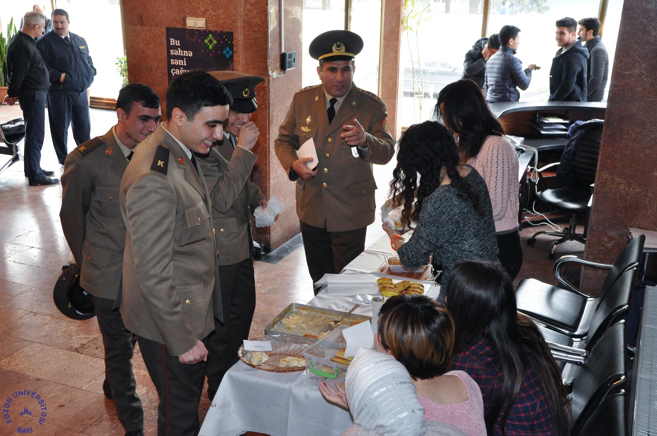 Khazar University Holds Bake Sale for Charity