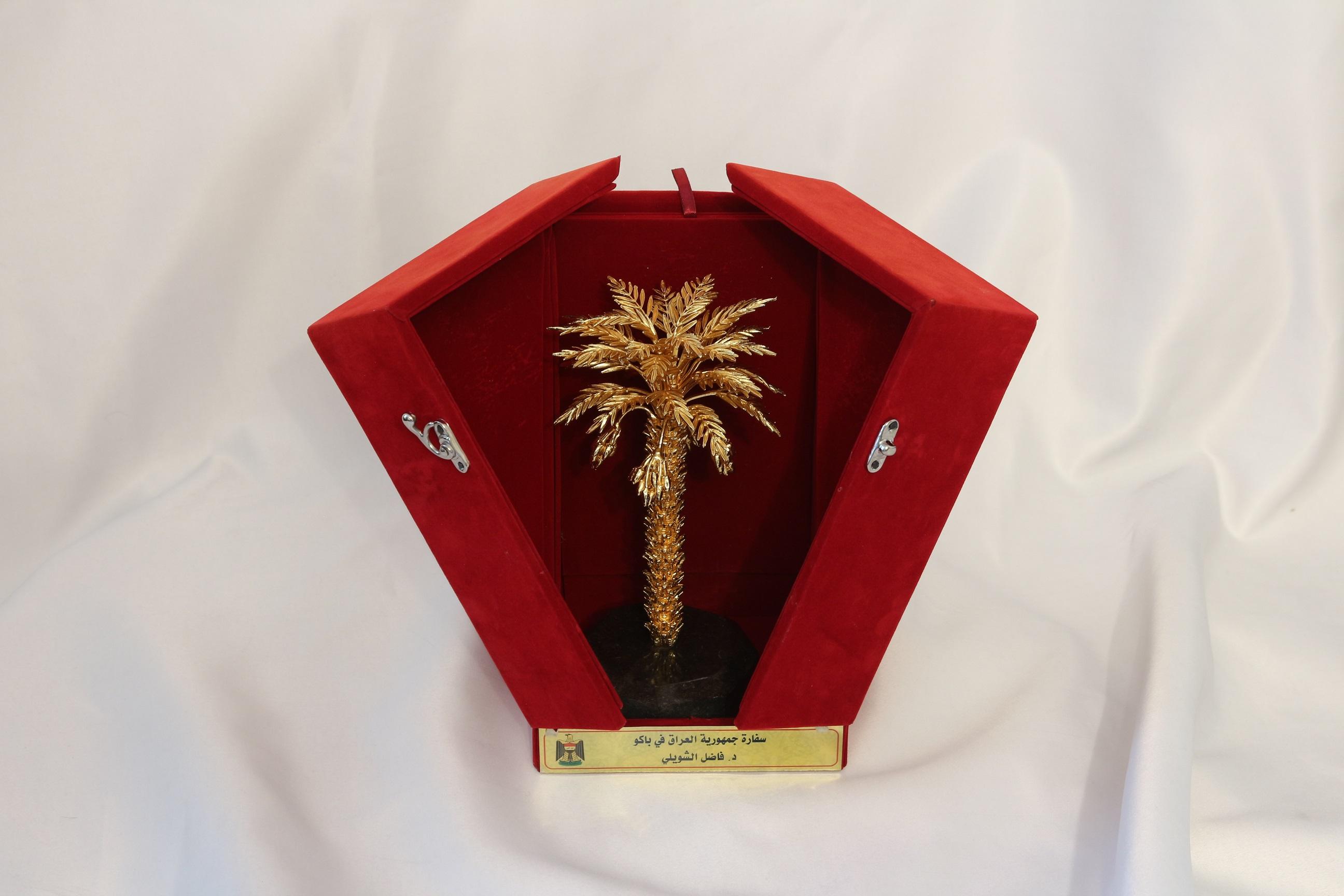 Khazar University Presented Golden Palm Award