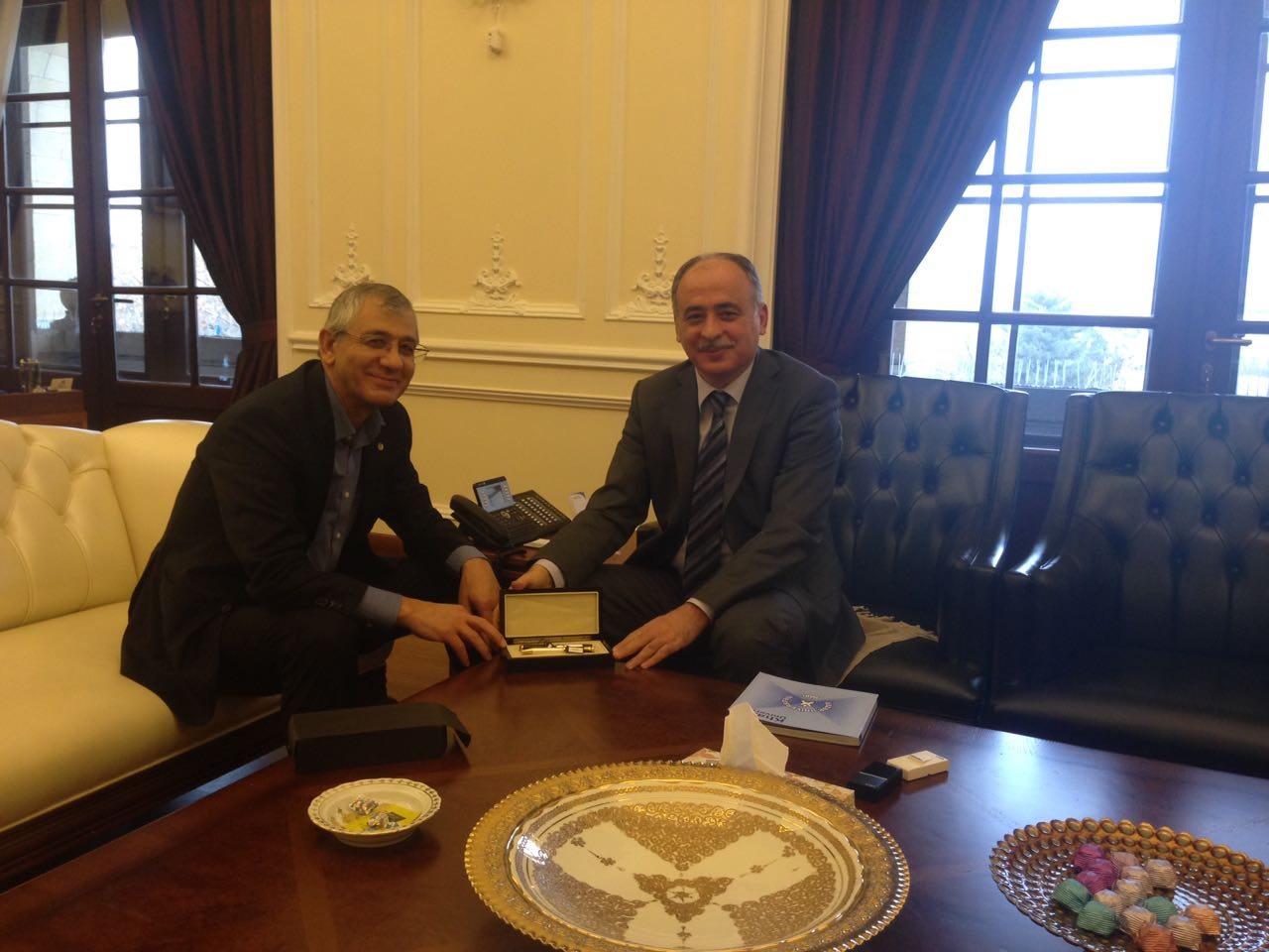 Founder Meets with Rector of Gazi University