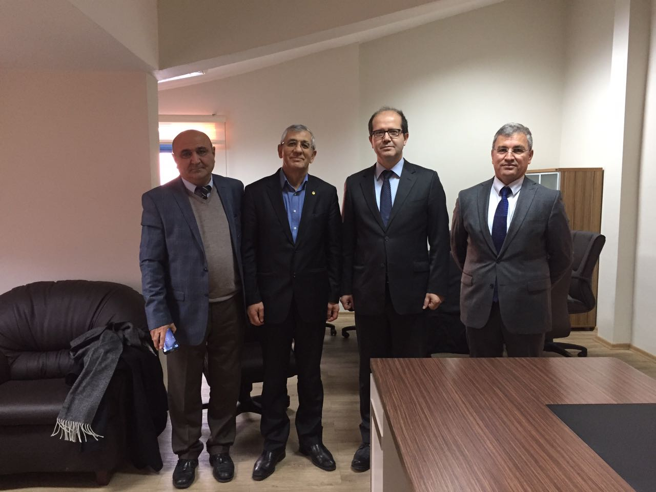 Founder Visits School of Engineering of Ankara University