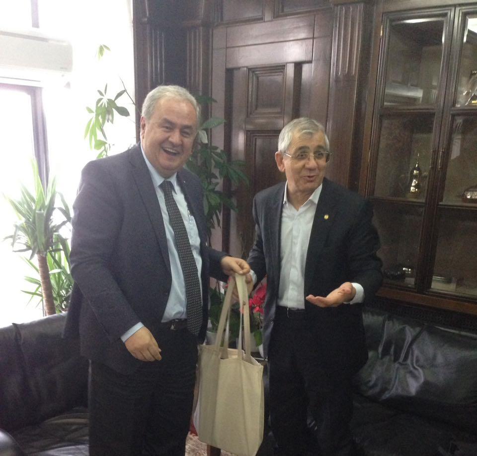 Founder Visits METU