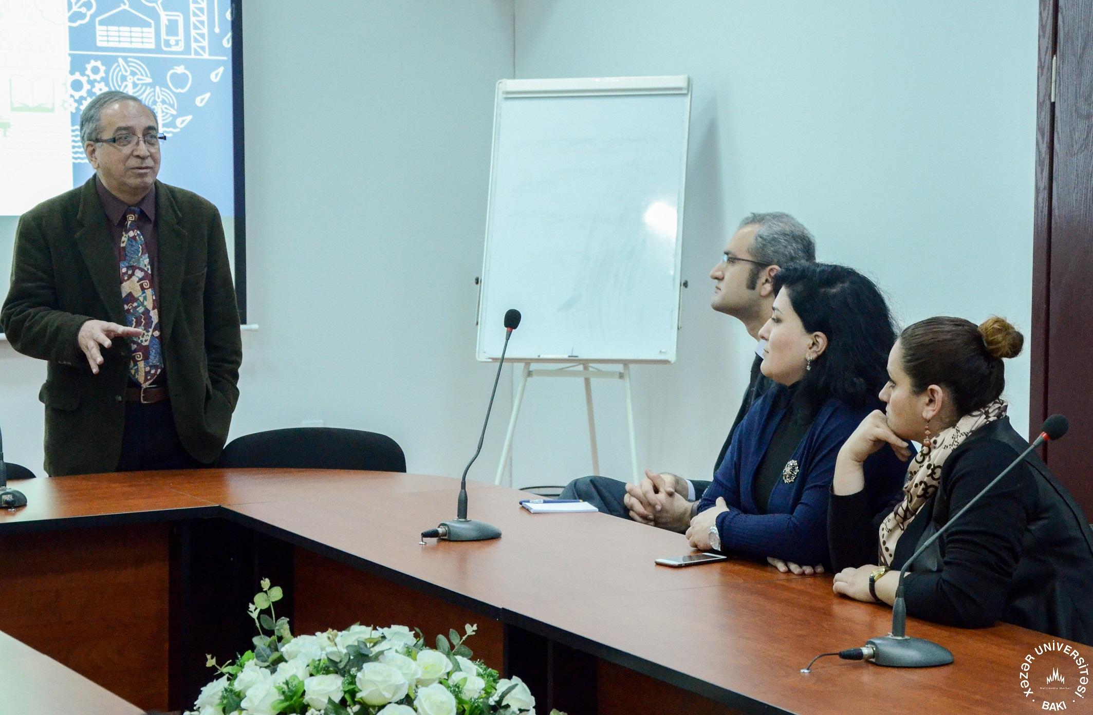 Encotec Meeting at Khazar