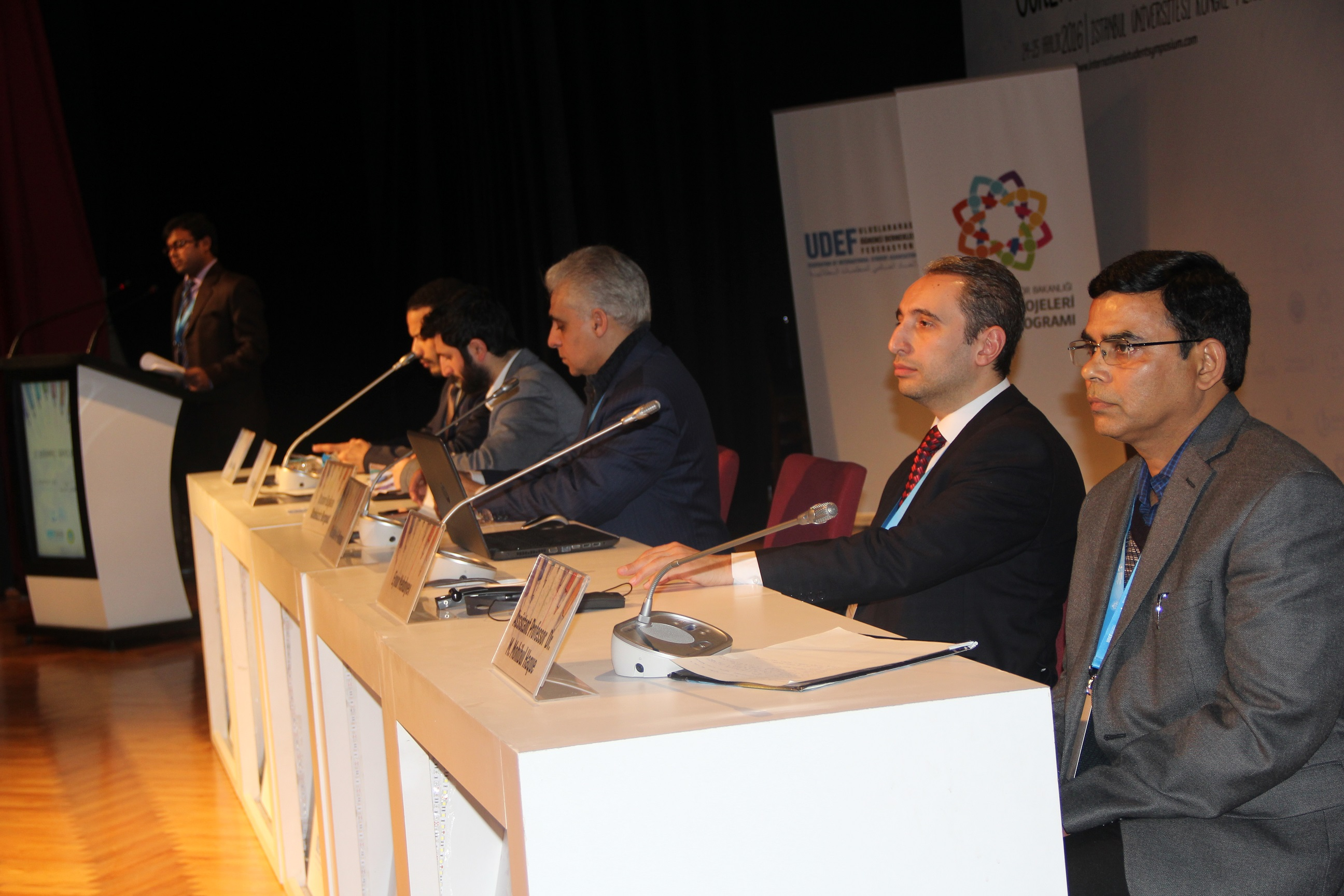 Department Vice Chair Participates in Symposium in Istanbul
