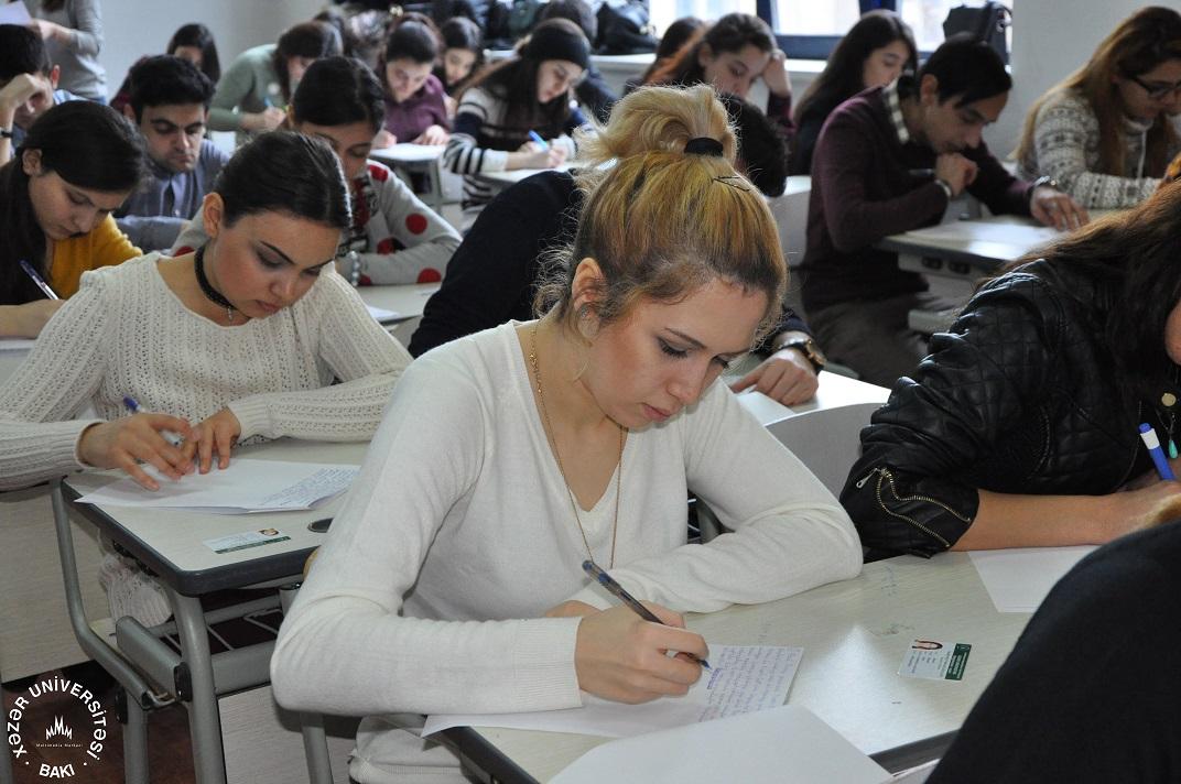 Examinations at Khazar