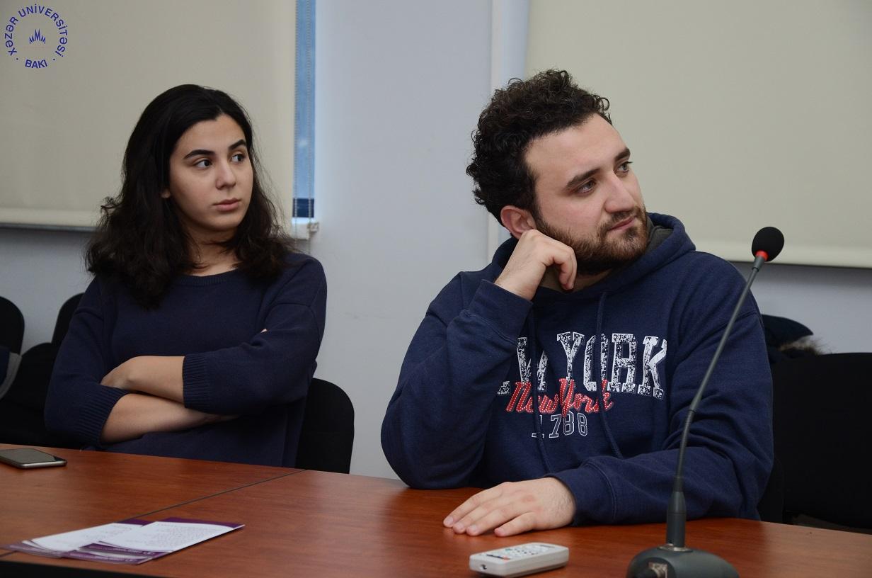 """""""Çətin iqtisadi vaxtlarda məzun olmaq"""" mövzusunda seminar keçirildi"""