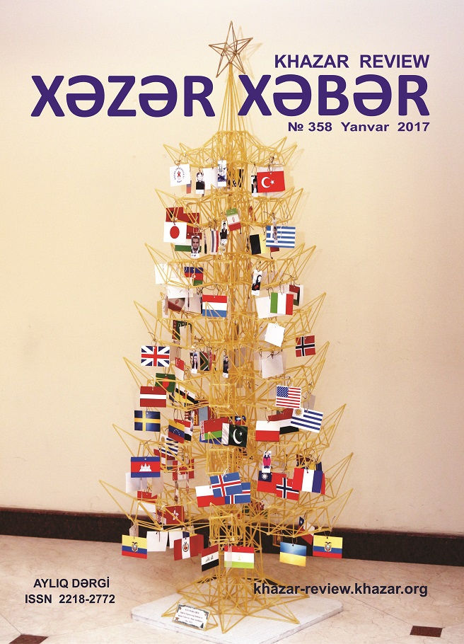 Khazar Review Journal January Issue Published