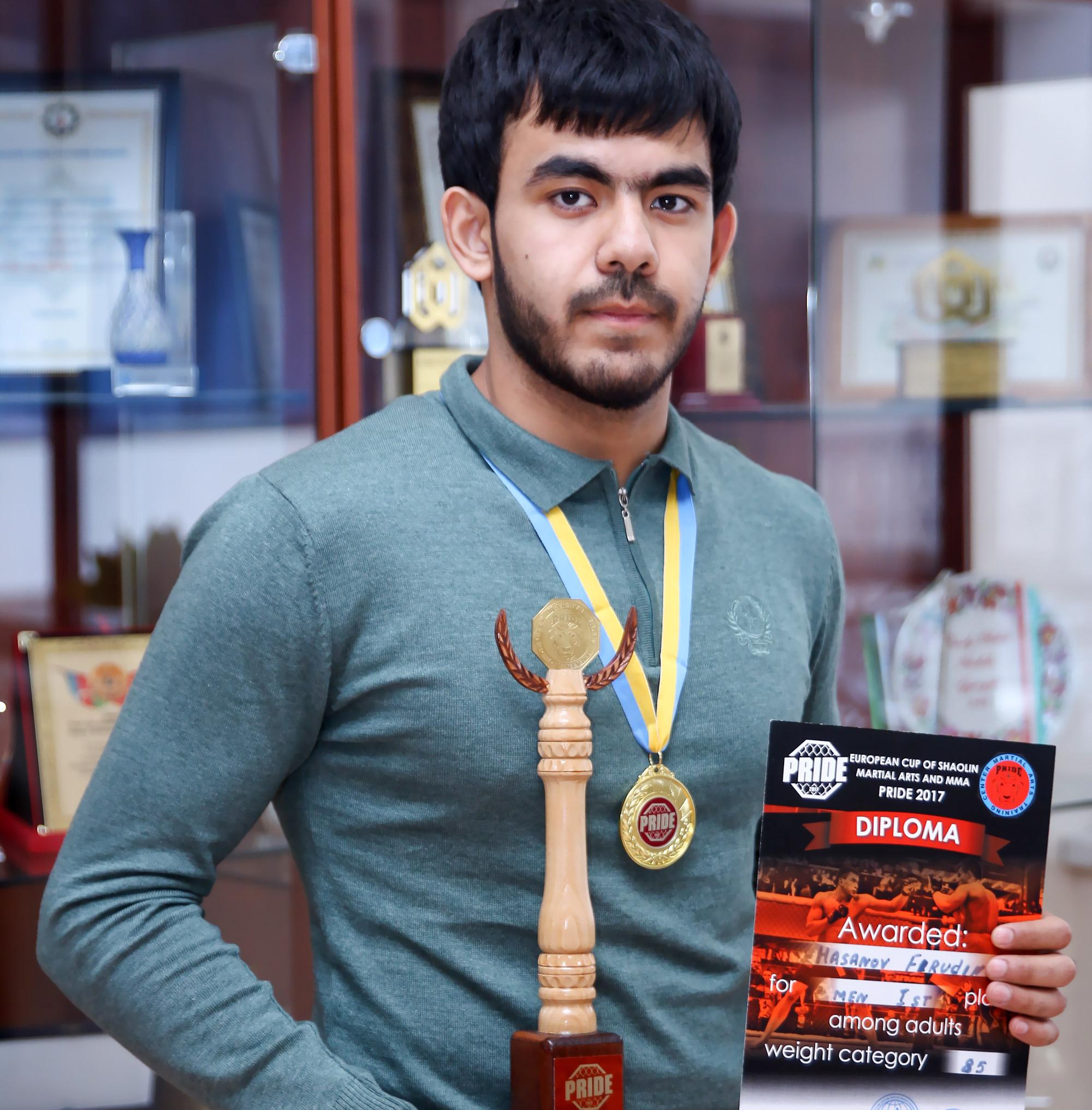 Khazar University student won European Championship